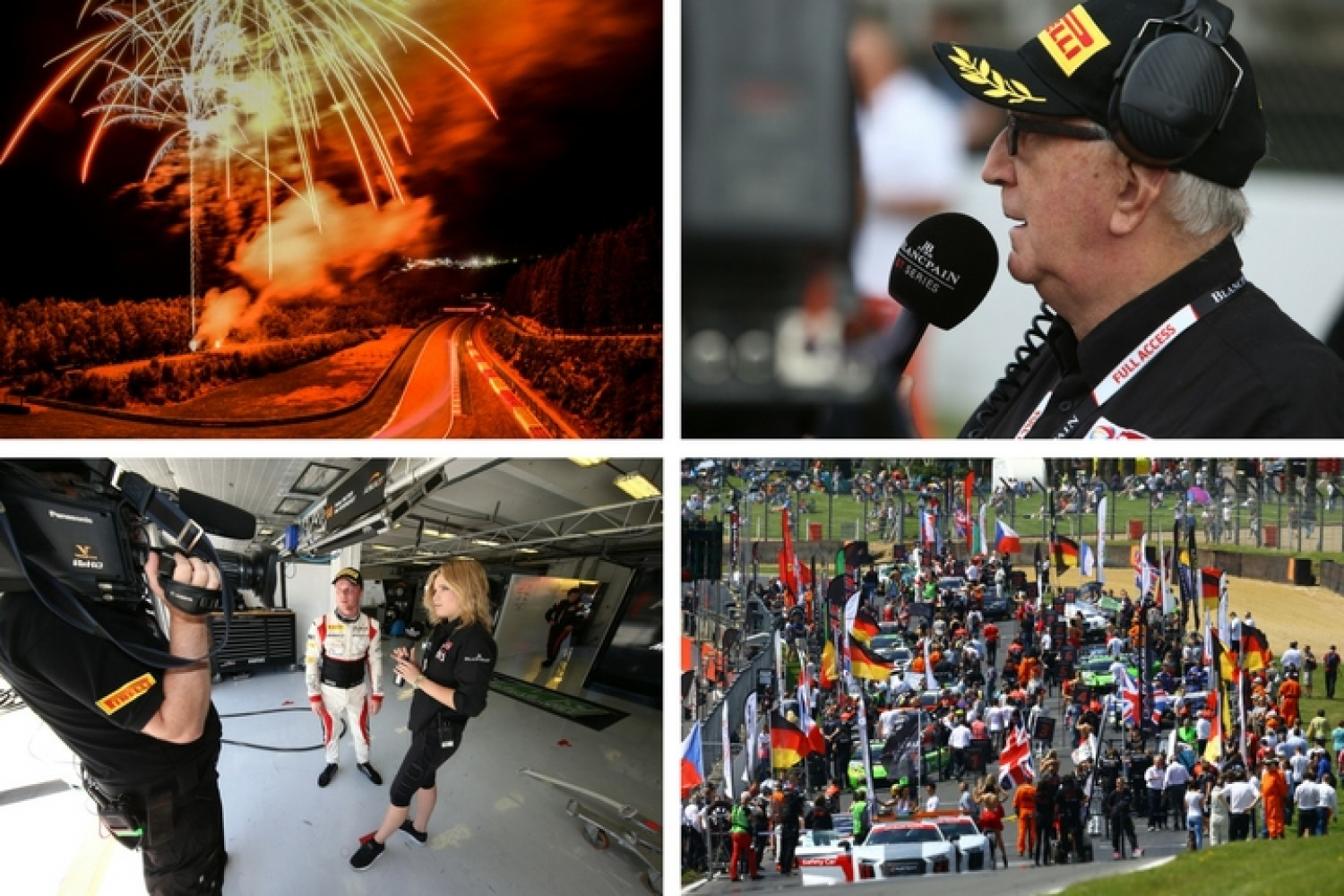 Increased global TV coverage for Blancpain GT Series and Total 24 Hours of Spa