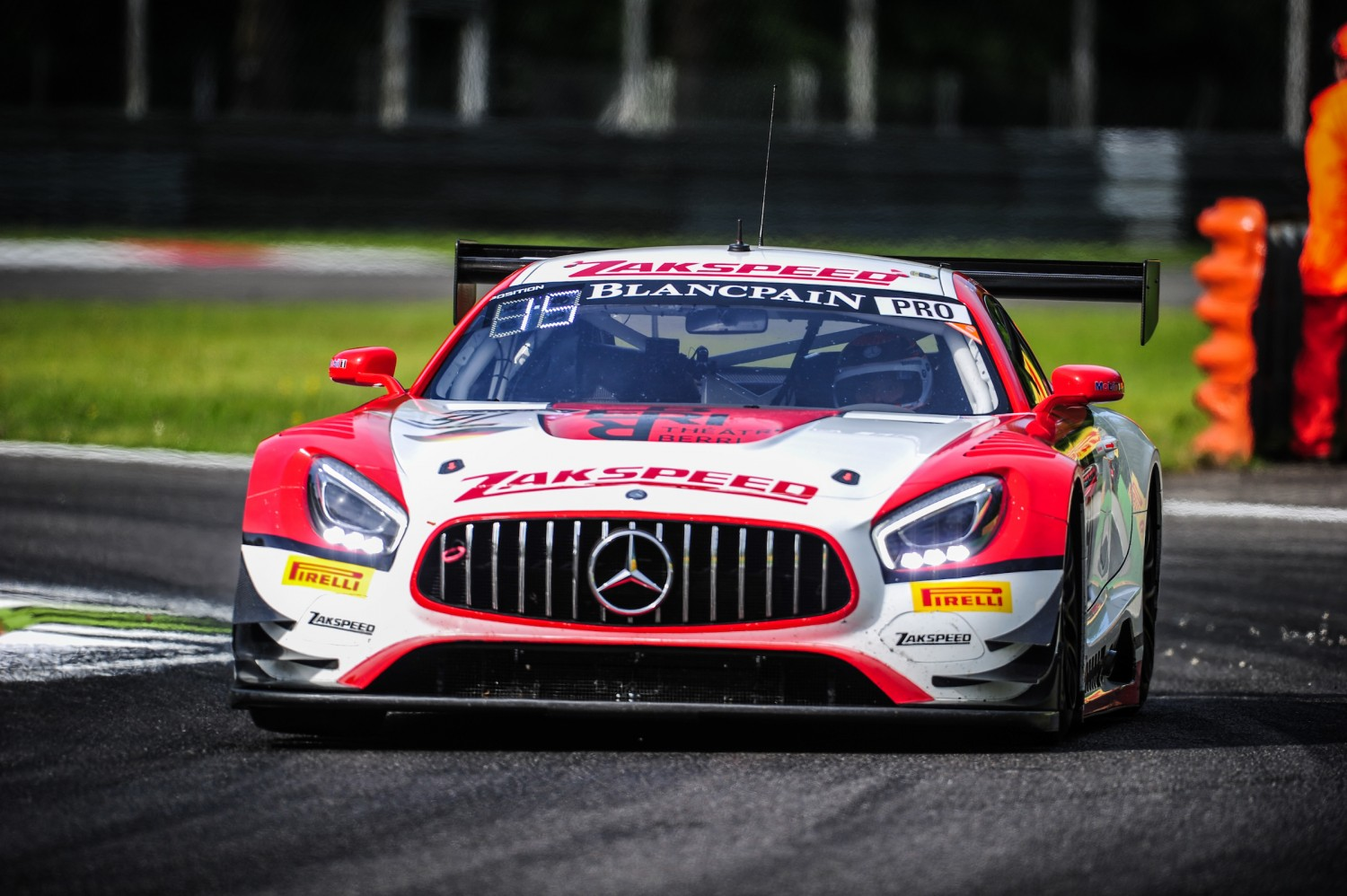 Blancpain GT Series Endurance Cup and Total 24 Hours of Spa for Team Zakspeed
