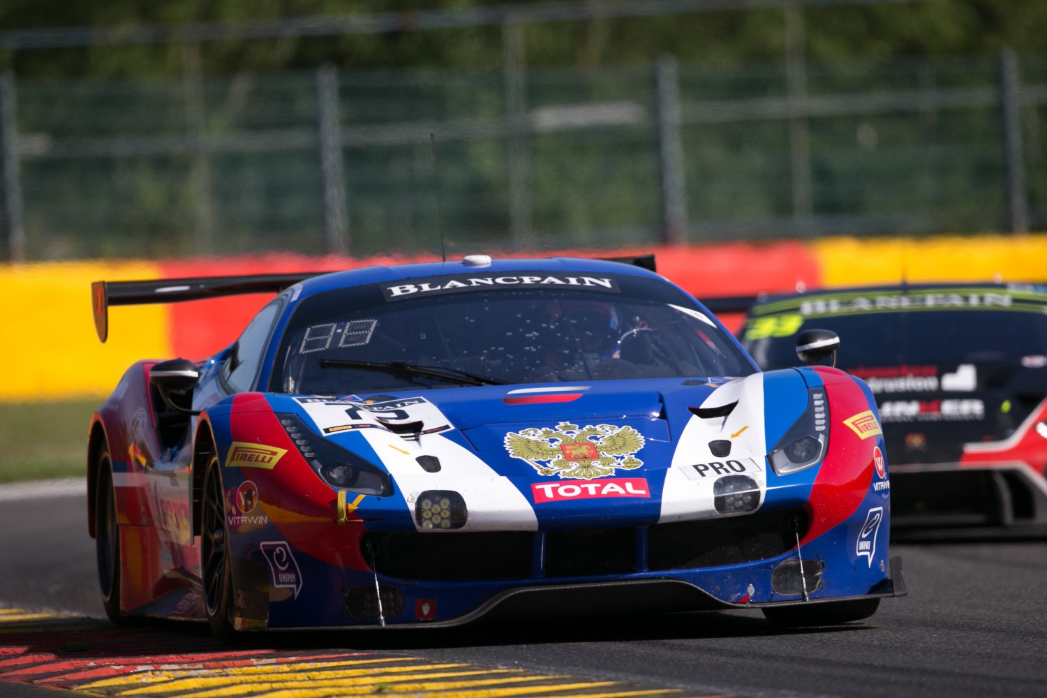 Ferrari leads Intercontinental GT Challenge on the eve of the Total 24 Hours of Spa