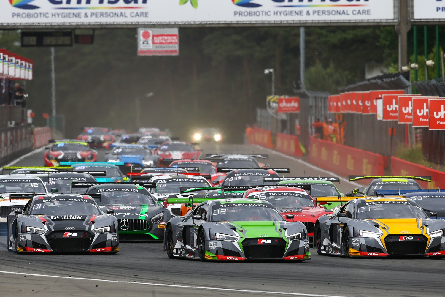 Audi dominates main race in Zolder