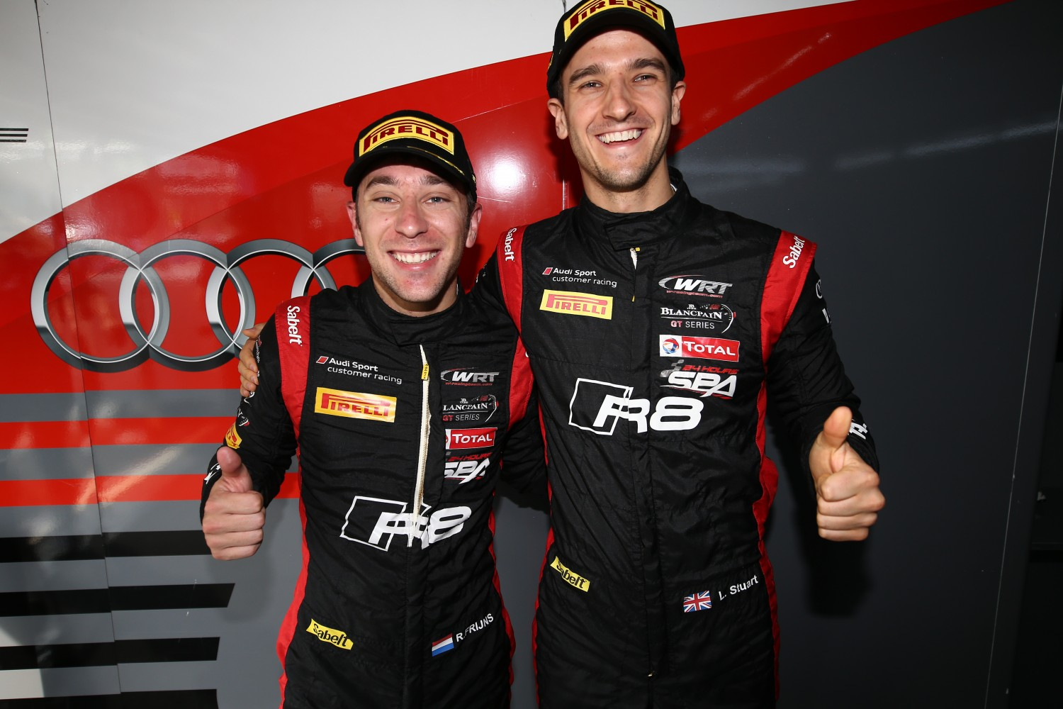 Robin Frijns takes first Audi pole of the season