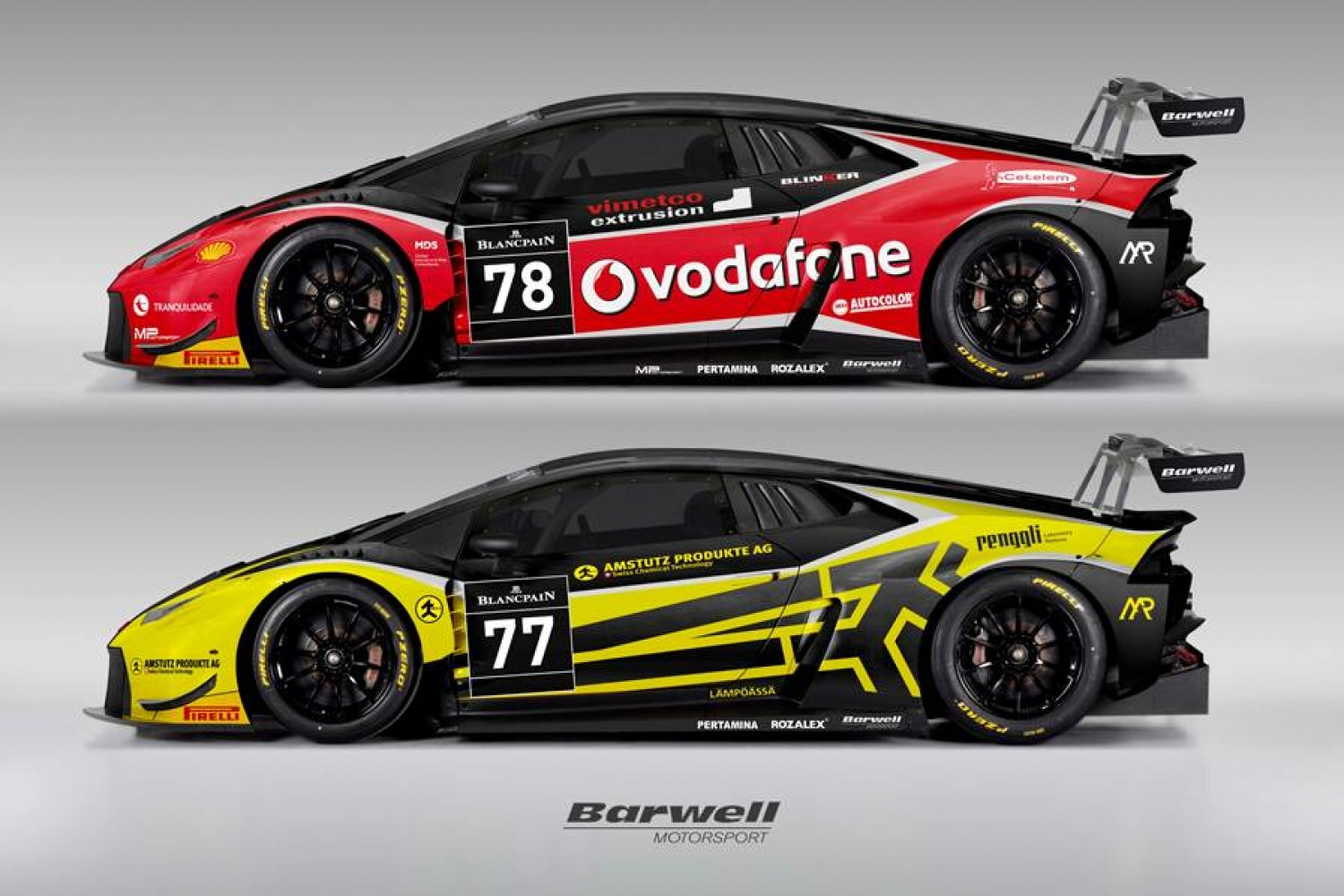 Barwell Motorsport confirms two-car squad for Blancpain GT Series Endurance Cup assault
