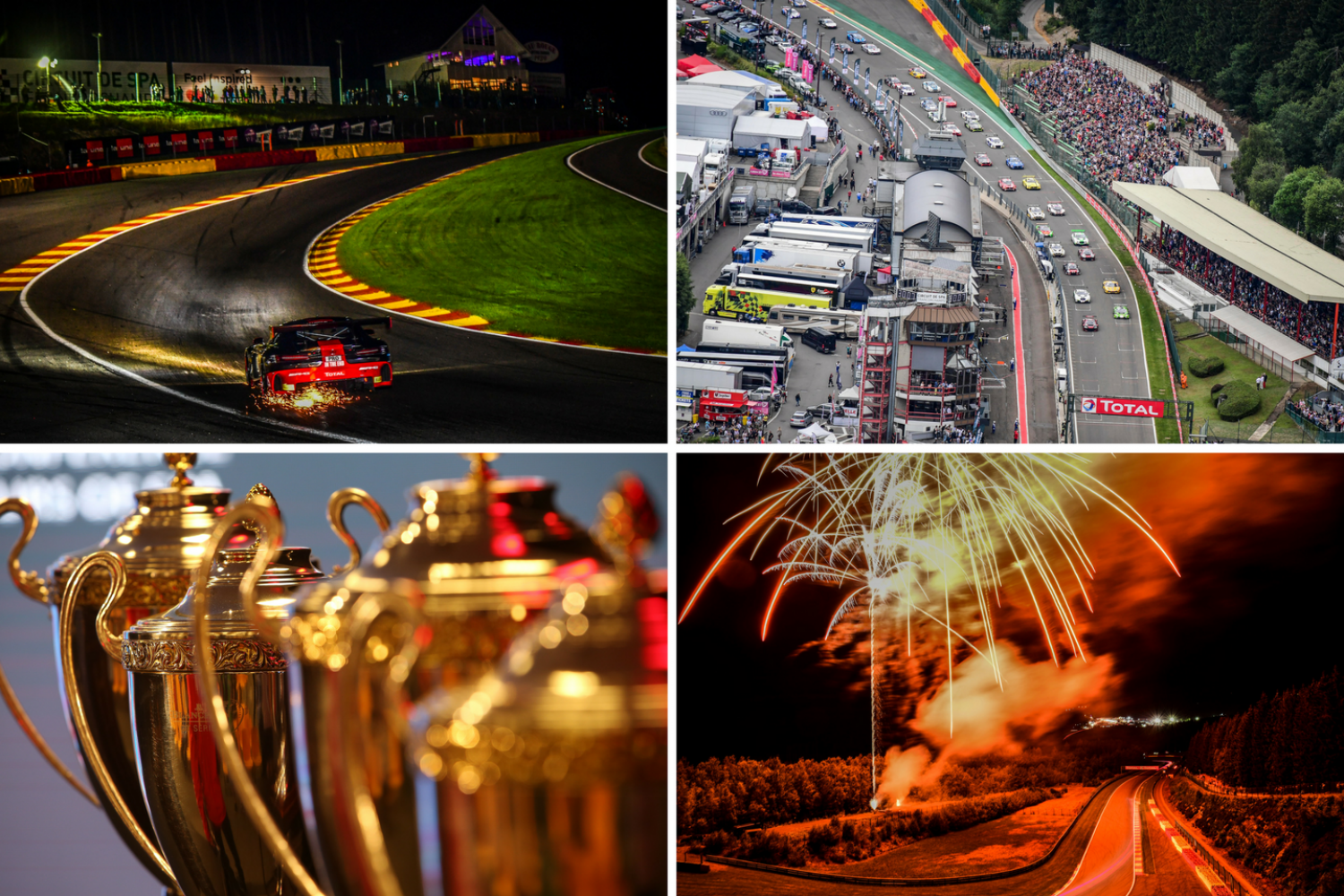 Impressive 66-car strong entry list for 2017 Total 24 Hours of Spa