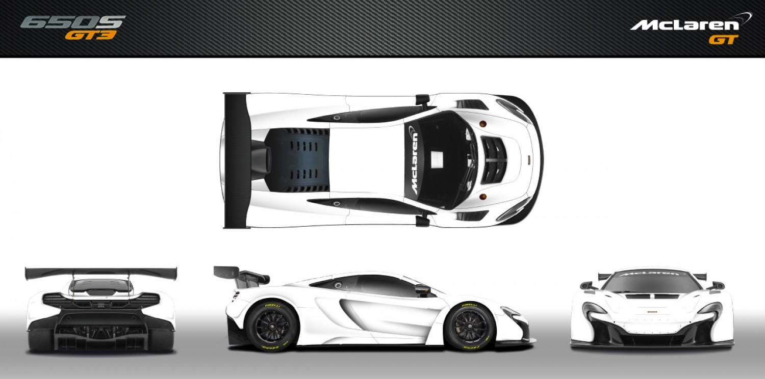 Design your ultimate McLaren 650S GT3, and watch it race with Strakka Racing at the Total Spa 24 Hours