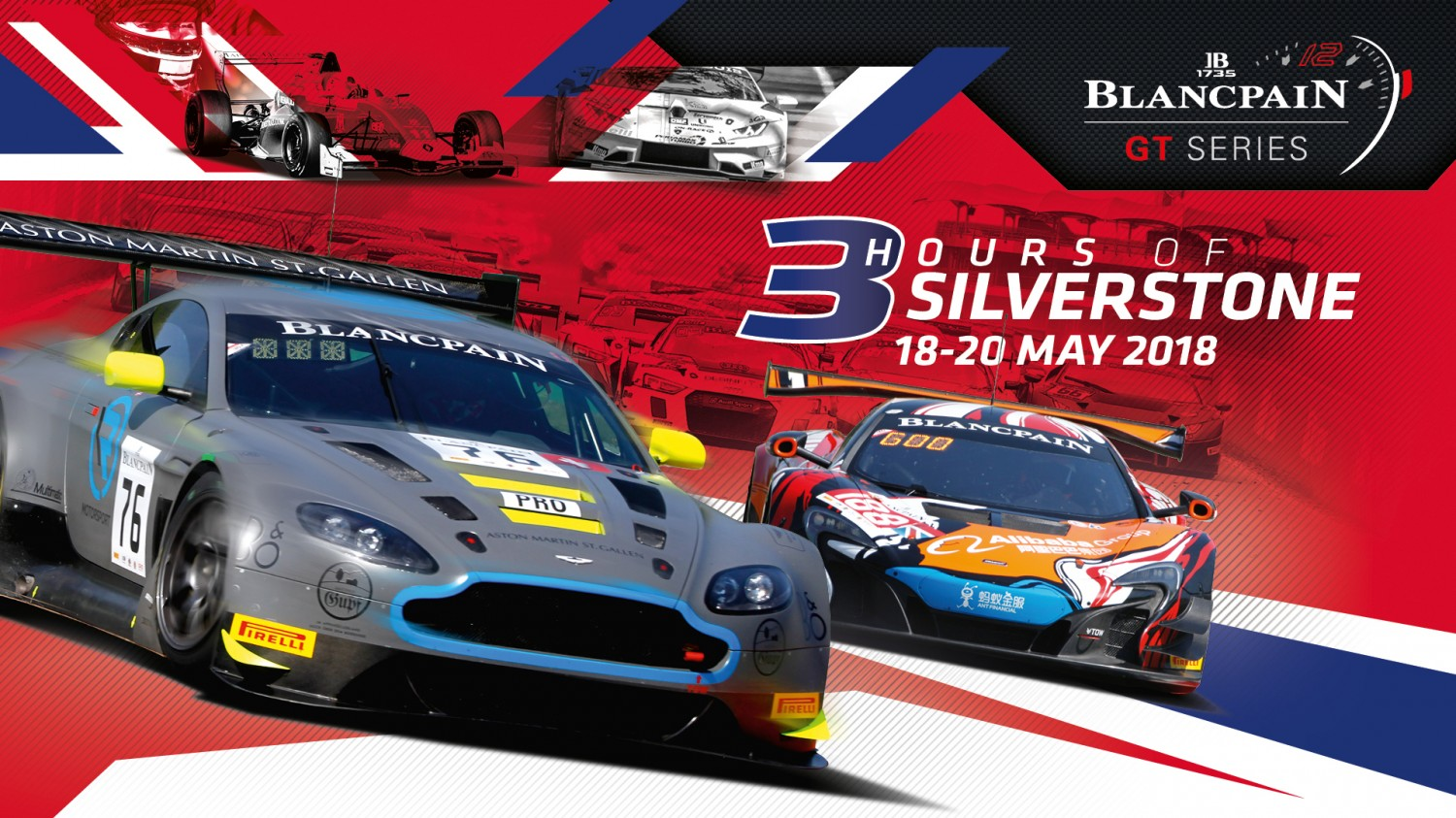 Stellar entry list confirmed for Silverstone with 52 cars primed for Endurance Cup contest