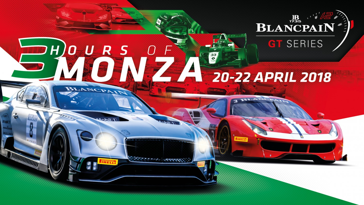 Impressive 54-car grid for Blancpain GT Series Endurance Cup opener at Monza