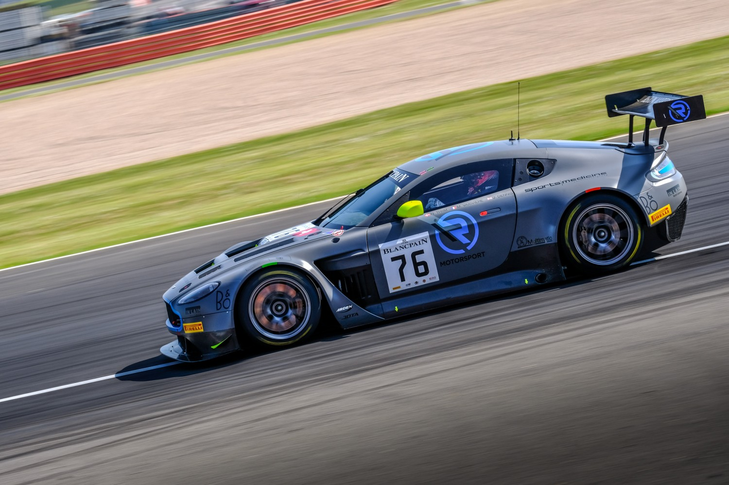 R-Motorsport and Aston Martin complete dominant Endurance Cup victory at Silverstone
