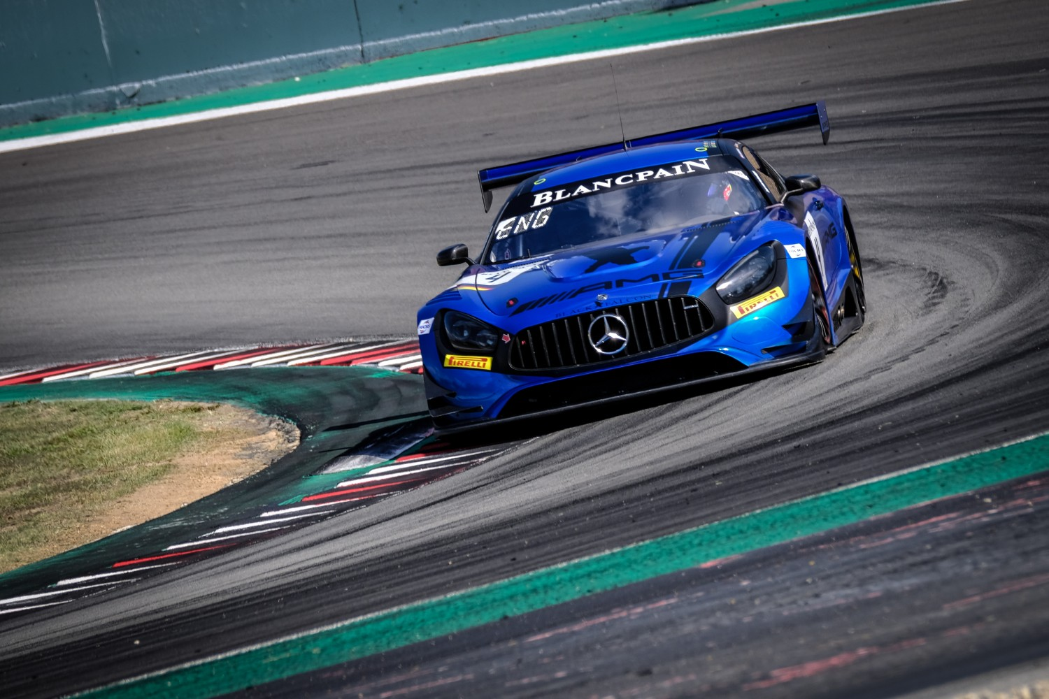 #4 Mercedes-AMG Team Black Falcon disqualified from the Barcelona race