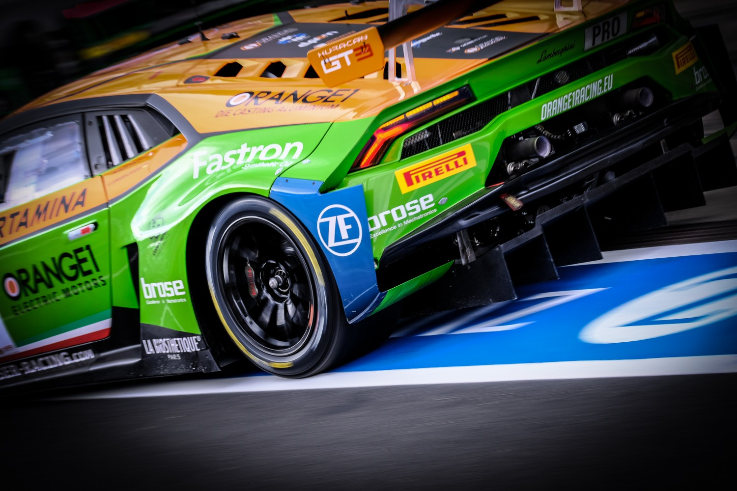 Statement from SRO Motorsports Group regarding disqualification of car #63 from Nürburgring event