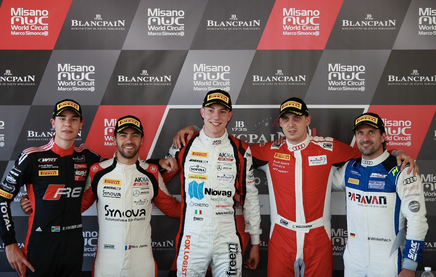 AKKA ASP Mercedes takes pole position double at Misano