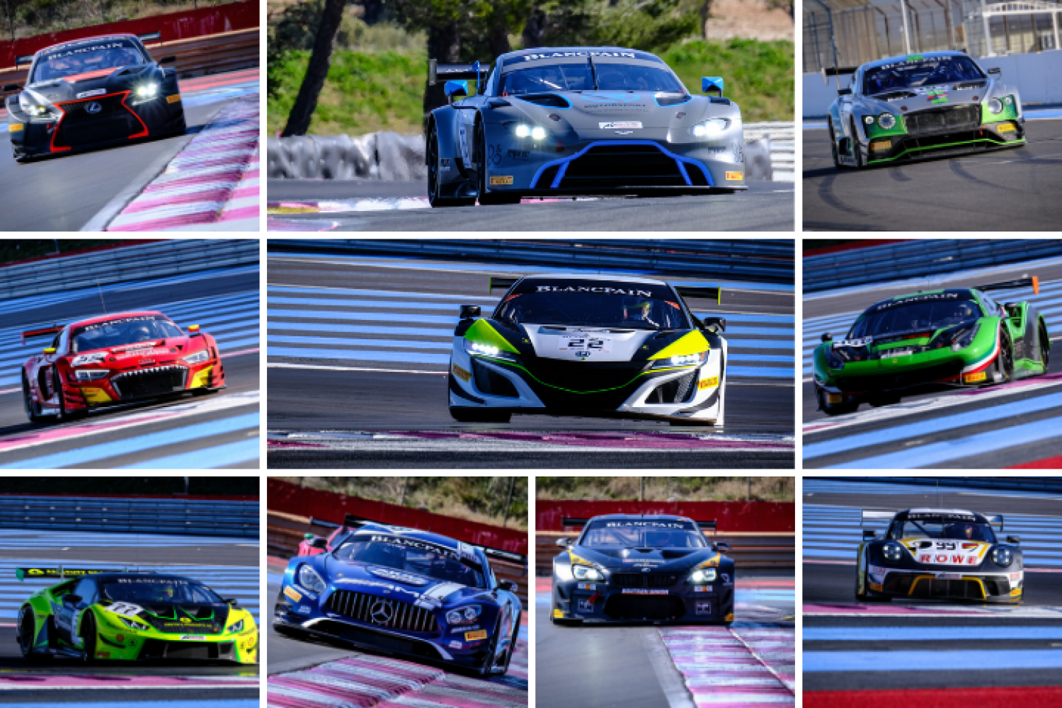 Blancpain GT Series contenders complete extensive pre-season running during official test days