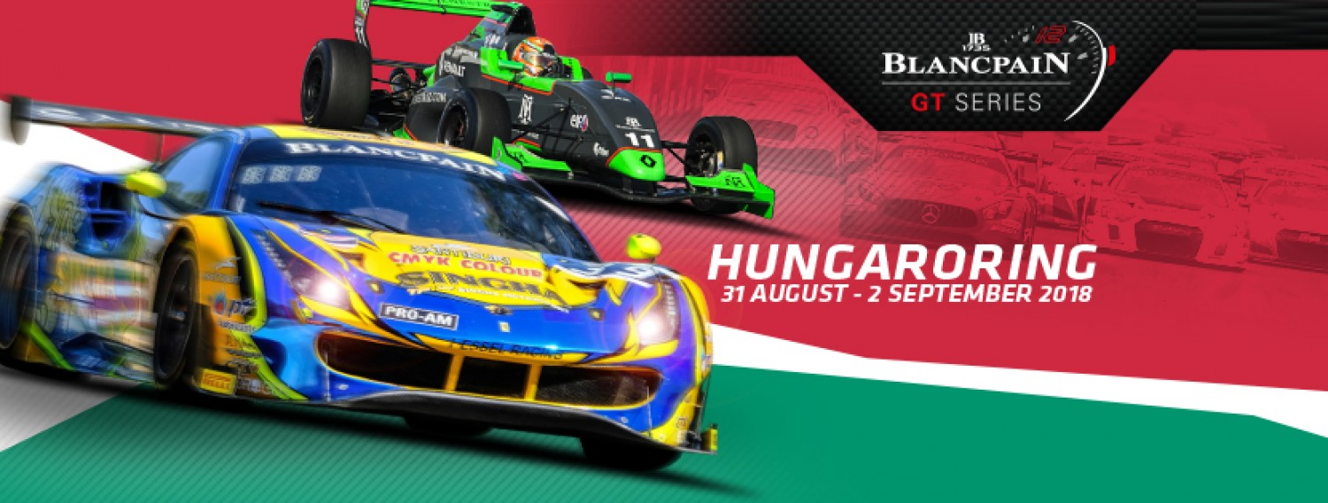 Blancpain GT Series ready to bring the noise as battle resumes at the Hungaroring