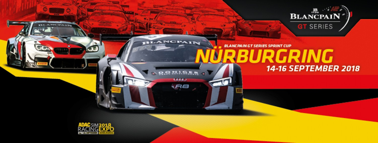 Epic Sprint Cup finale in prospect as Blancpain GT Series heads for the Nürburgring