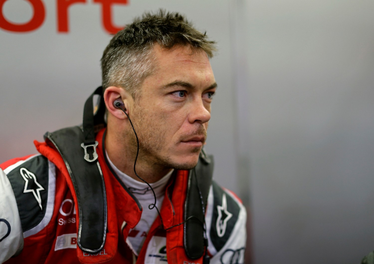 André Lotterer with the Audi Sport Team WRT at the Total 24 Hours of Spa