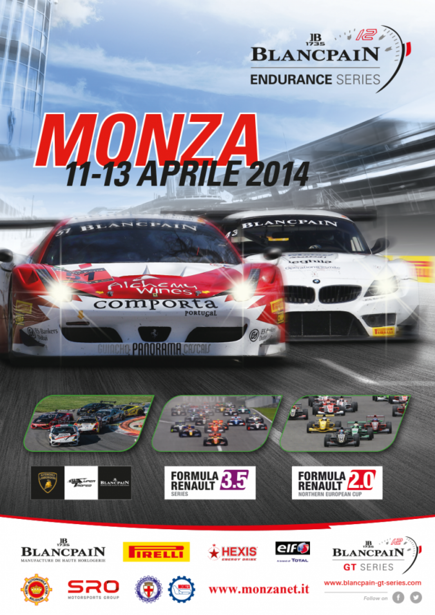 Tickets sales for the Blancpain Endurance Series at Monza are on line!