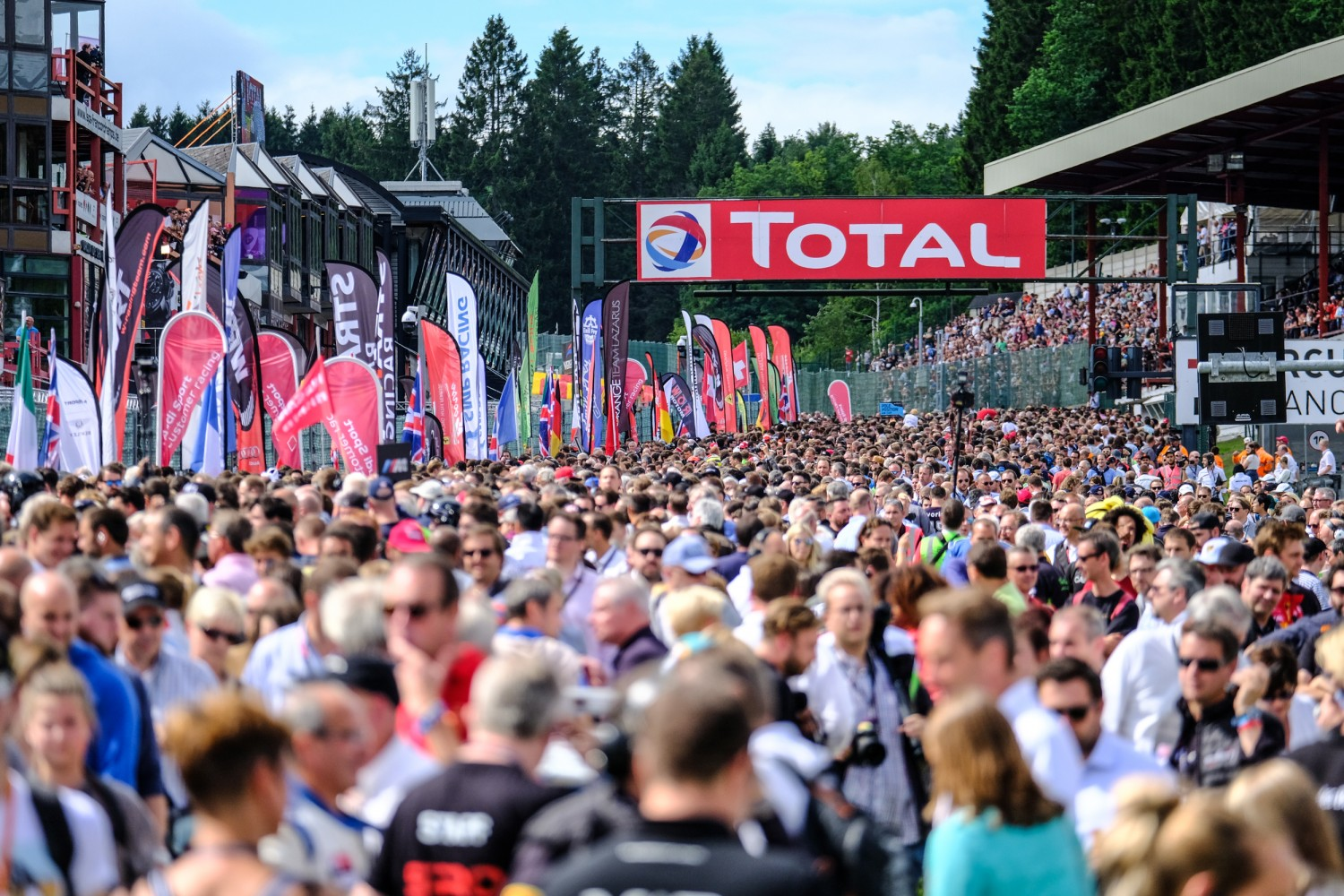 Total 24 Hours of Spa announces incredible 68-car entry list for momentous 70th edition