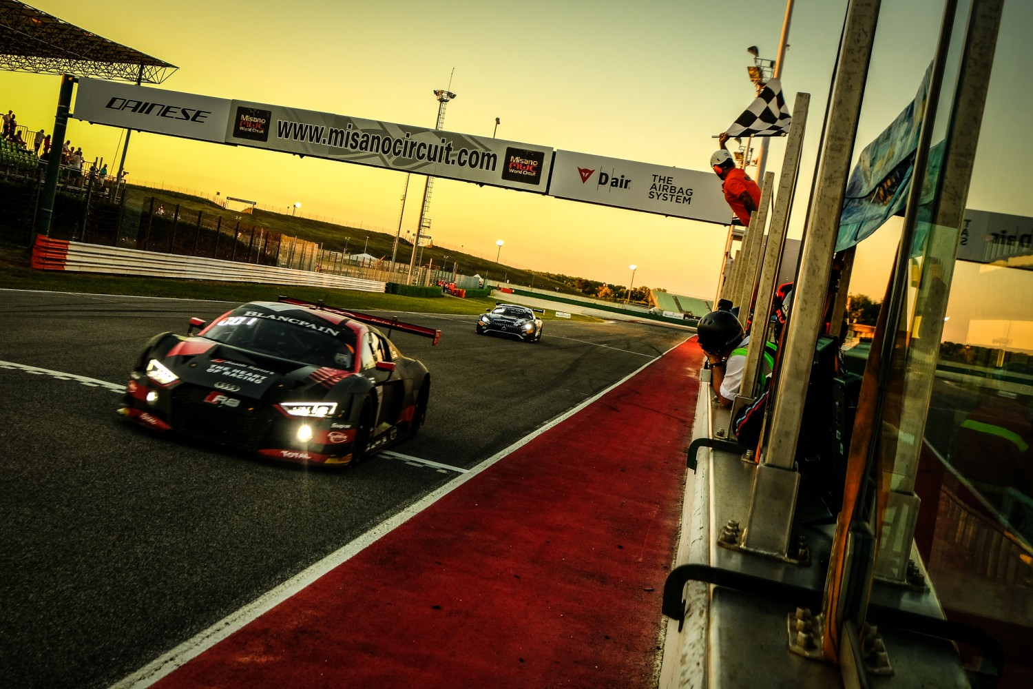 Belgian Audi Club Team WRT secures close-fought Sprint Cup triumph at Misano