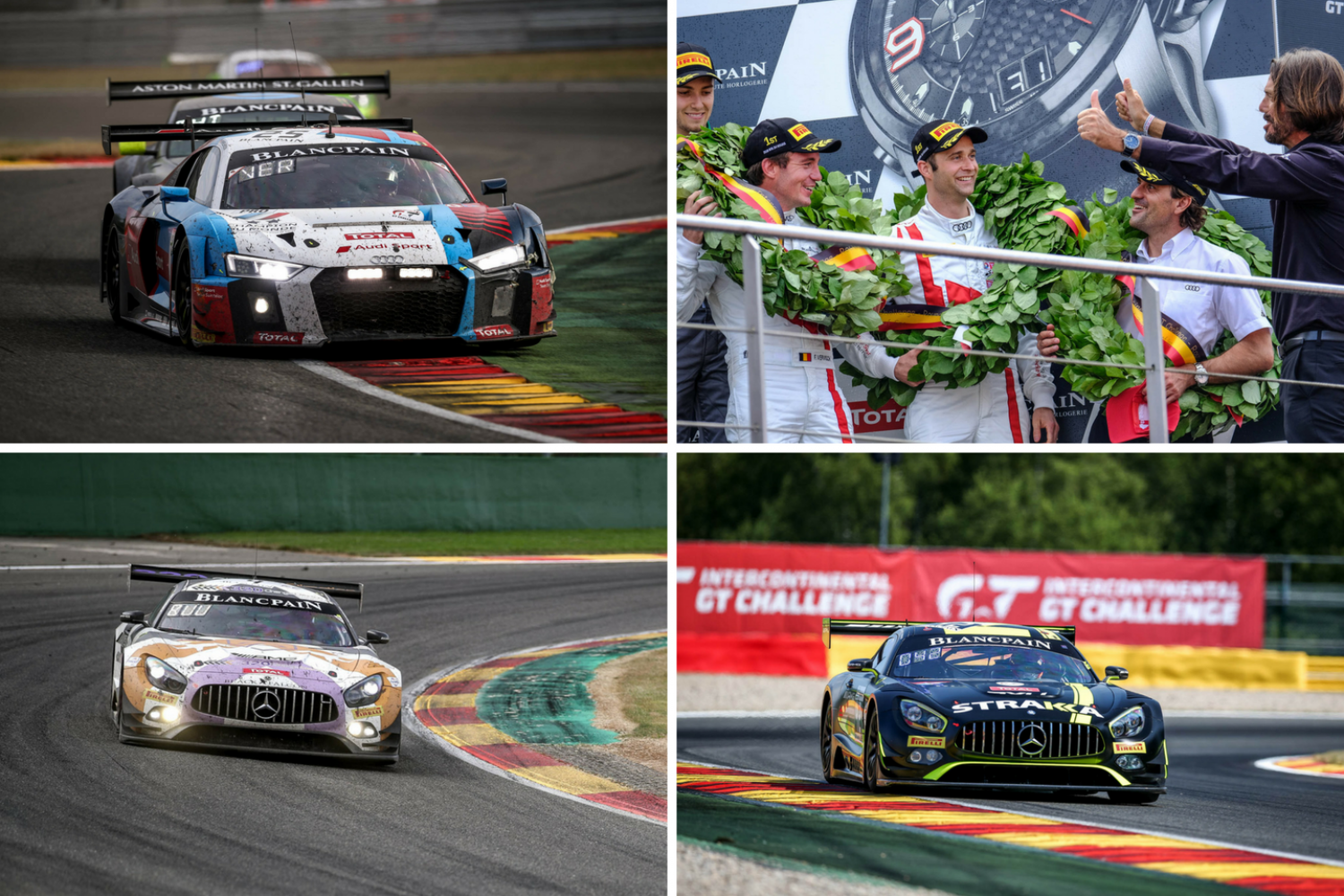BMW wins Spa, Audi scores full points for the Intercontinental GT Challenge