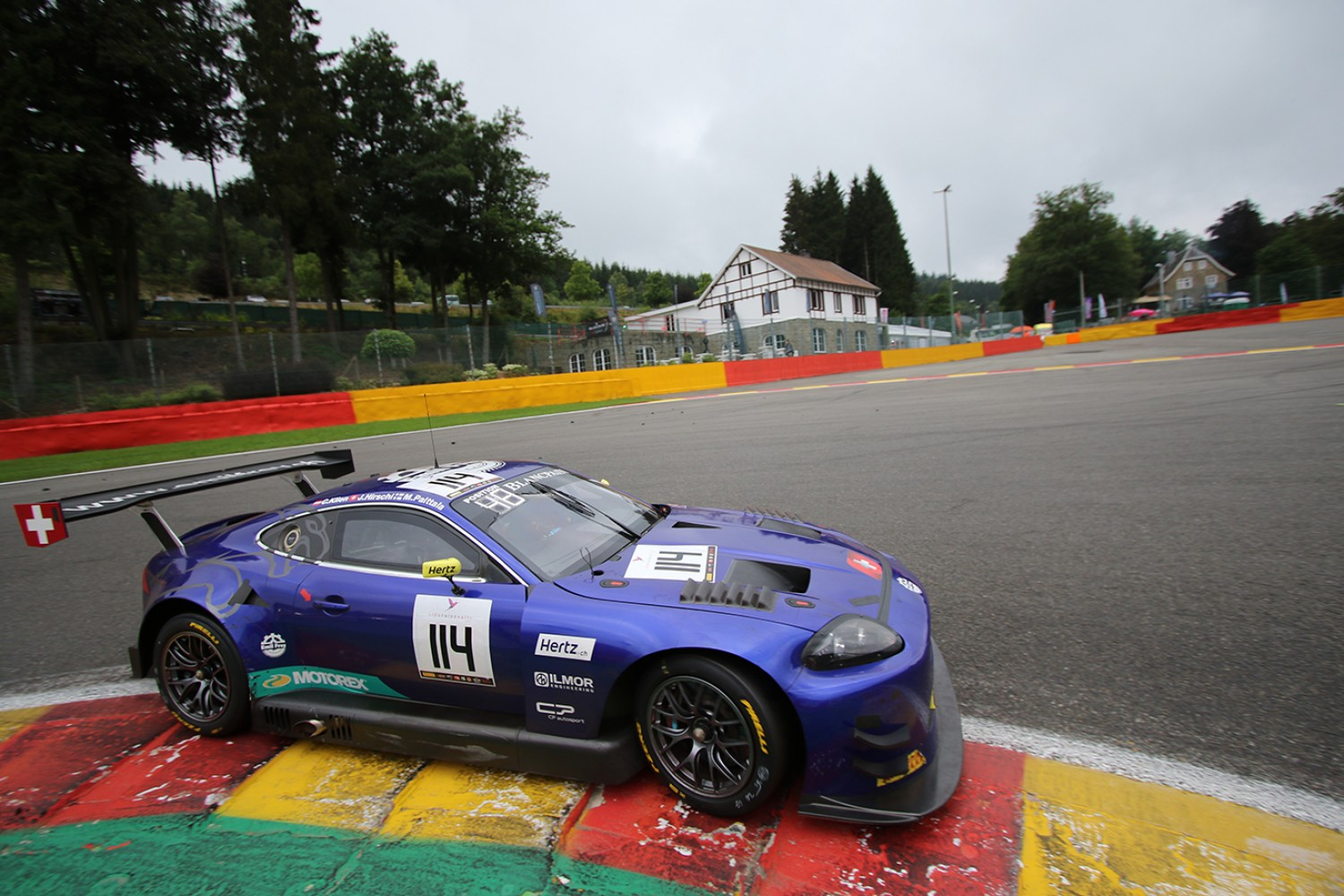 EMIL FREY JAGUAR RACING TO RACE FOR FIFTH TIME AT THE TOTAL 24 HOURS OF SPA