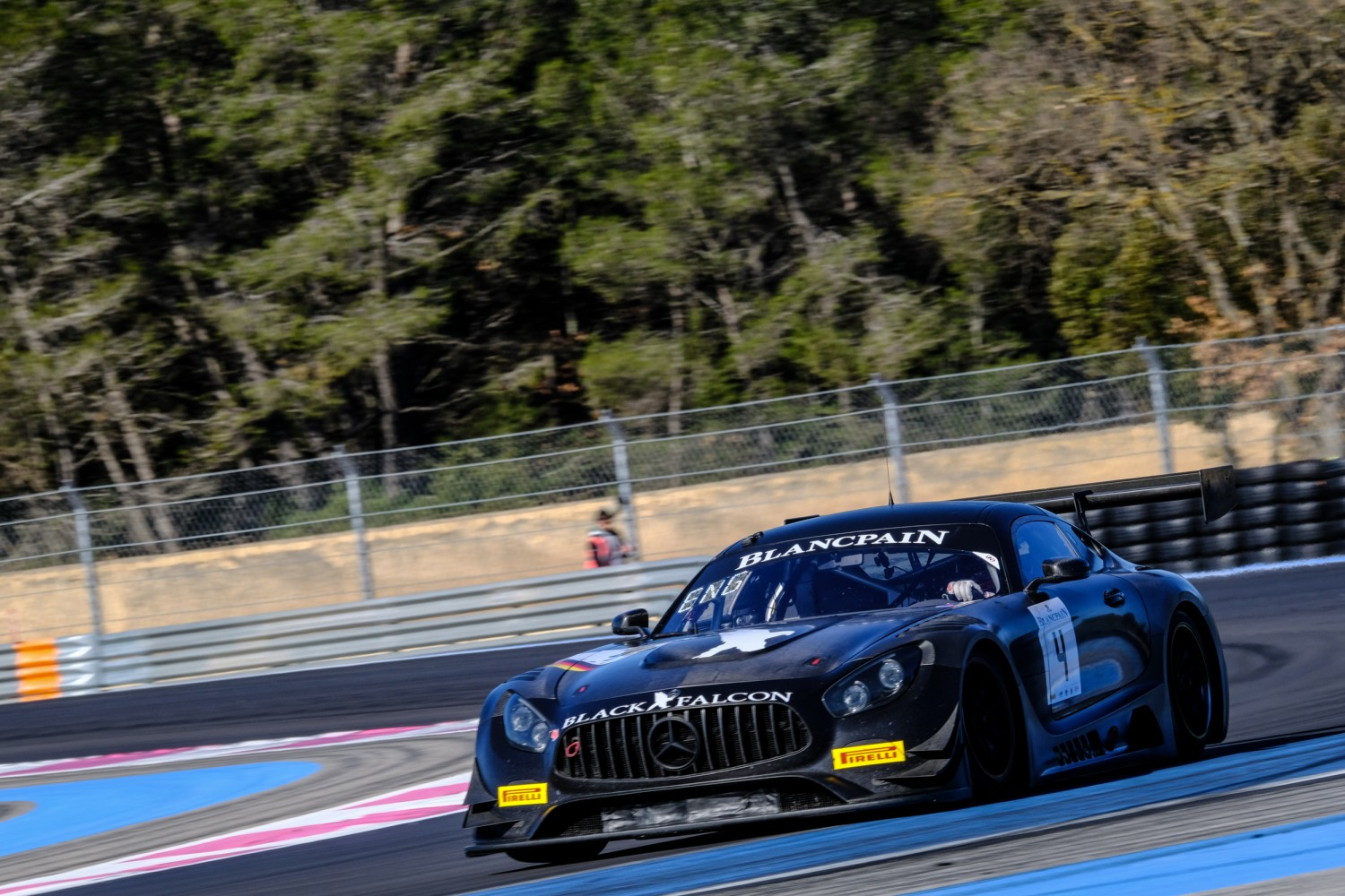 Black Falcon reveals drivers for three-car Blancpain GT Series assault
