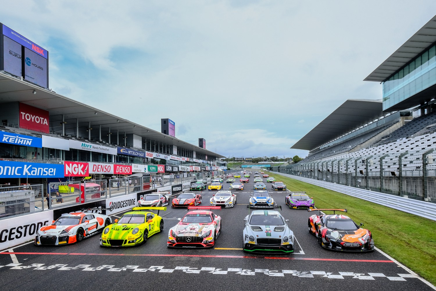 Strong Blancpain GT Series representation among Suzuka 10 Hours field