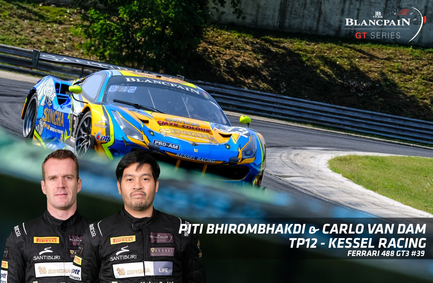 IN PROFILE: Piti Bhirombhakdi and Carlo Van Dam prepare for Pro-Am showdown