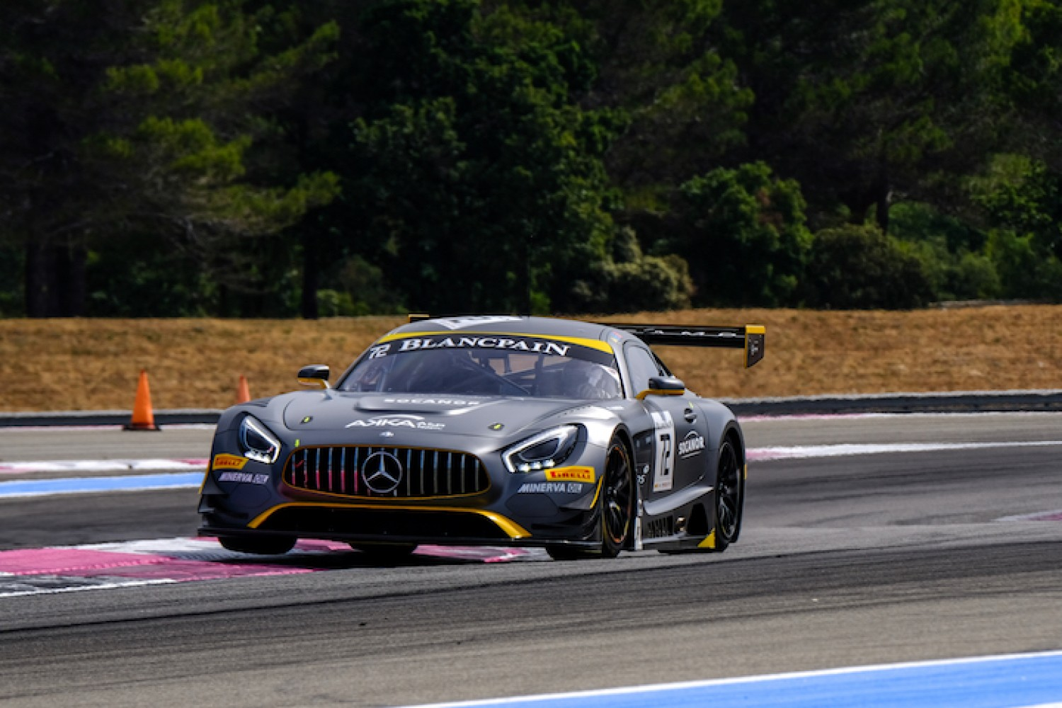 BLANCPAIN GT SPORTS CLUB : OVERALL POINTS LEADER PONS LOOKING TO EXTEND WINNING MOMENTUM