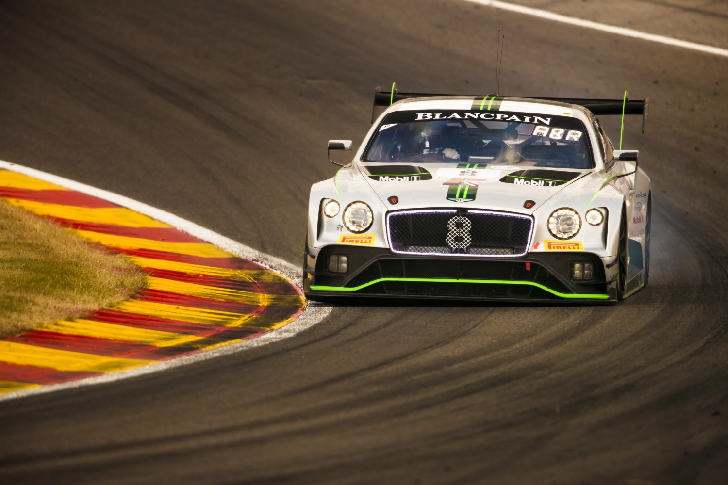 Four pro-class Bentley Continental GT3s to contest Total 24 Hours of Spa