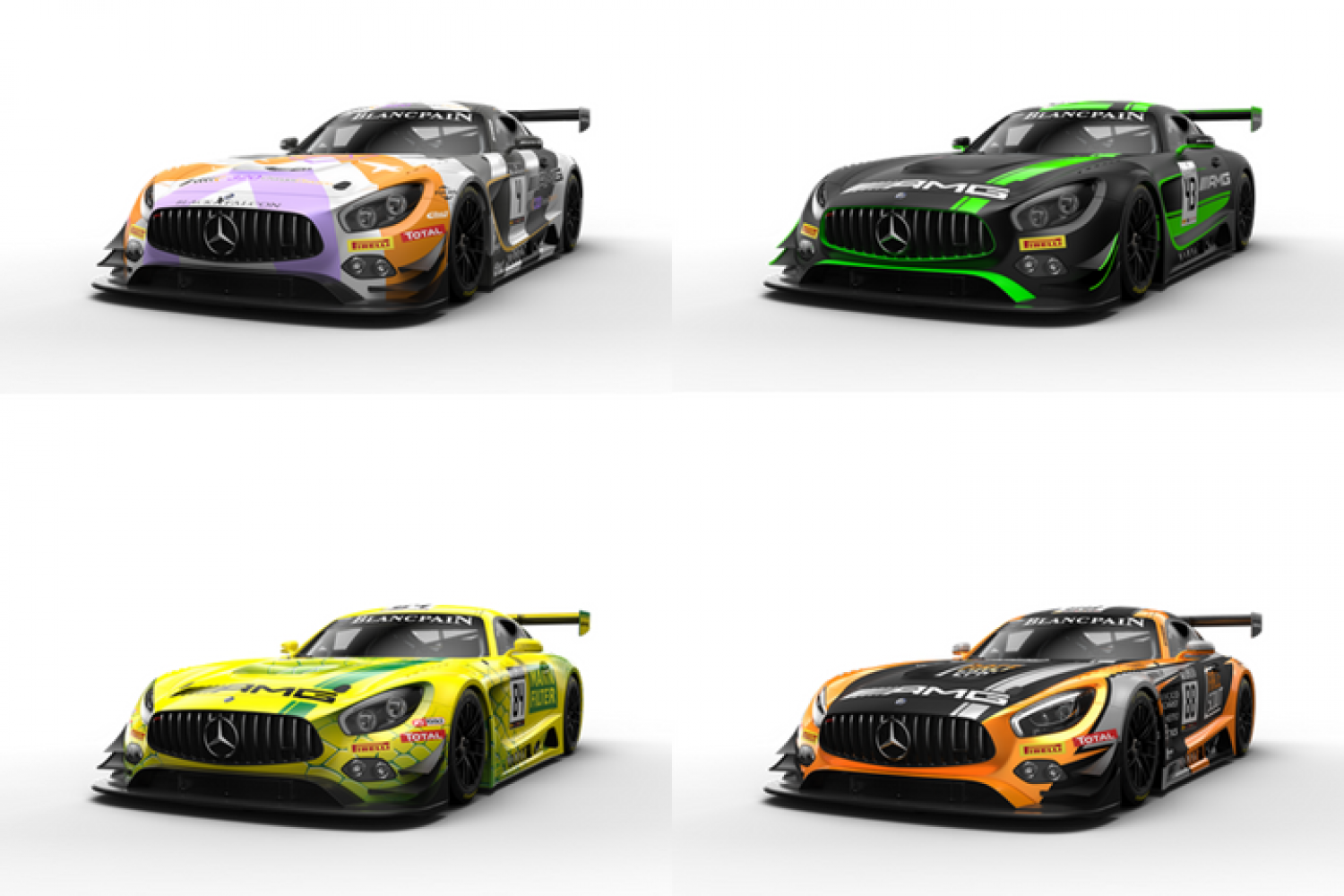 Mercedes-AMG with a record line-up for the Total 24 Hours of Spa