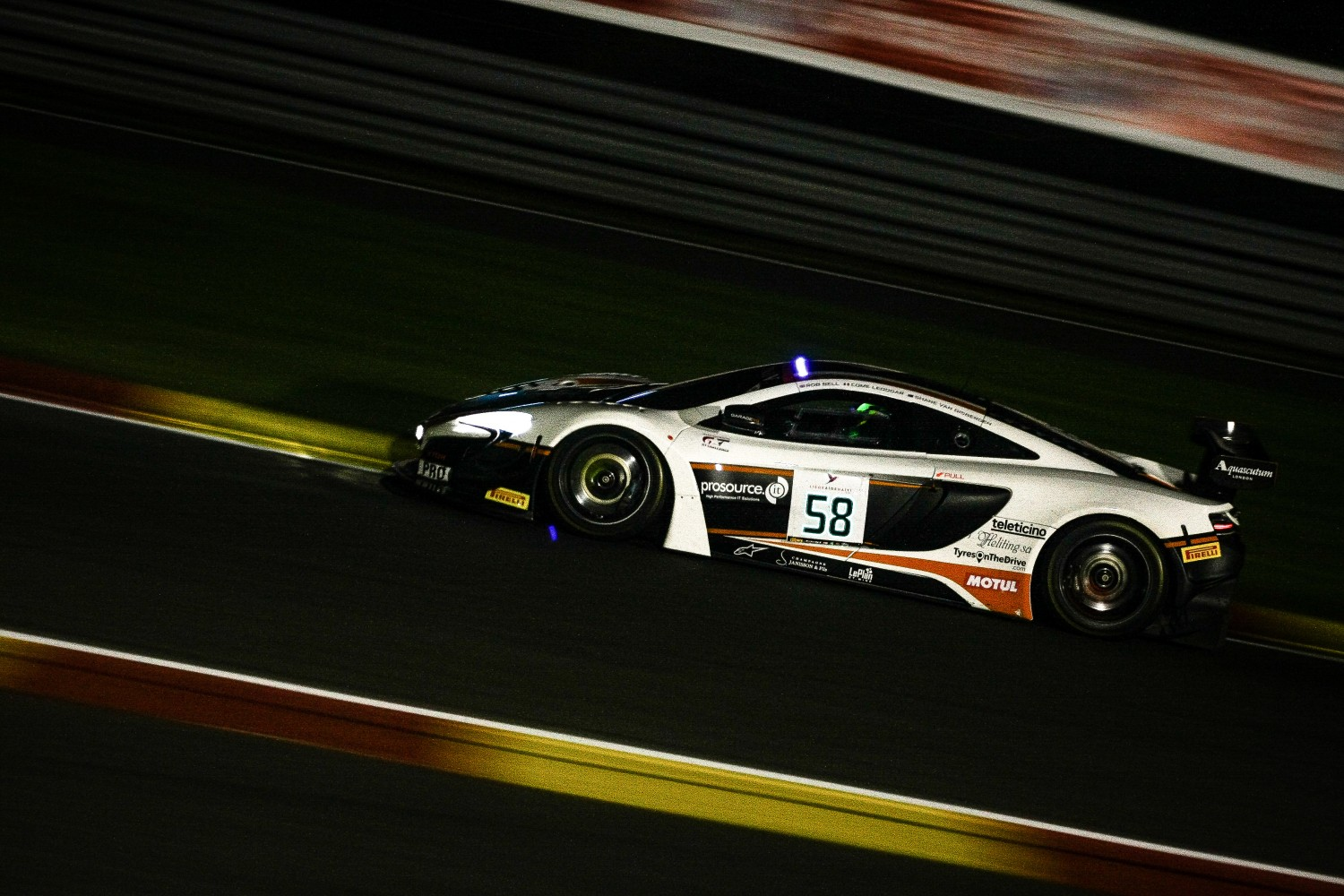 Shane Van Gisbergen fastest in qualifying for the Total 24 Hours of Spa