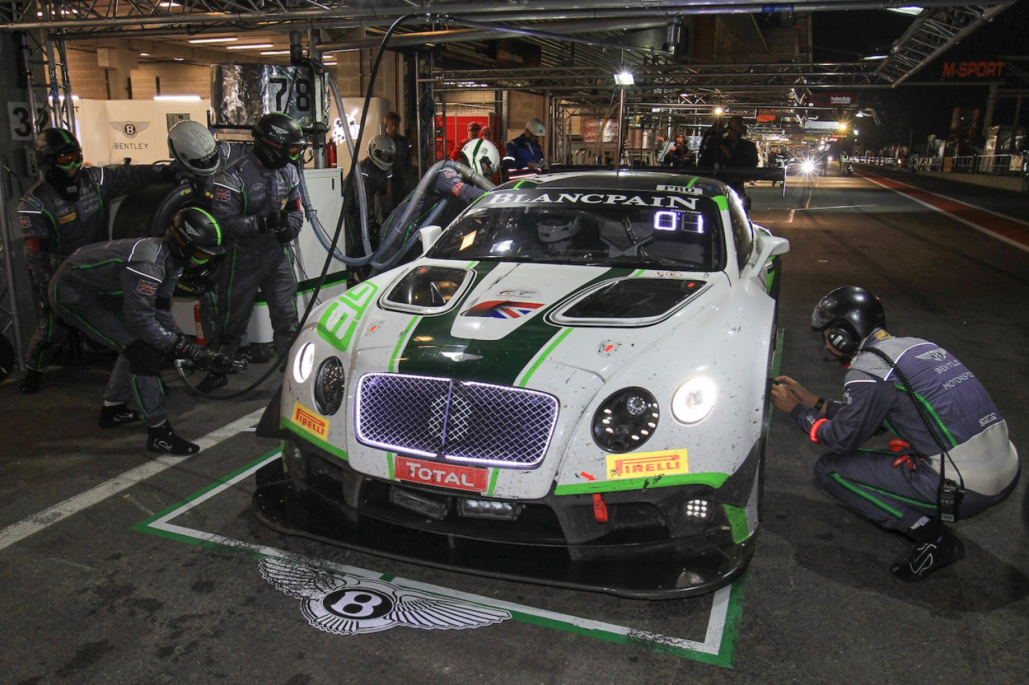 Bentley score big with first and third at halfway mark
