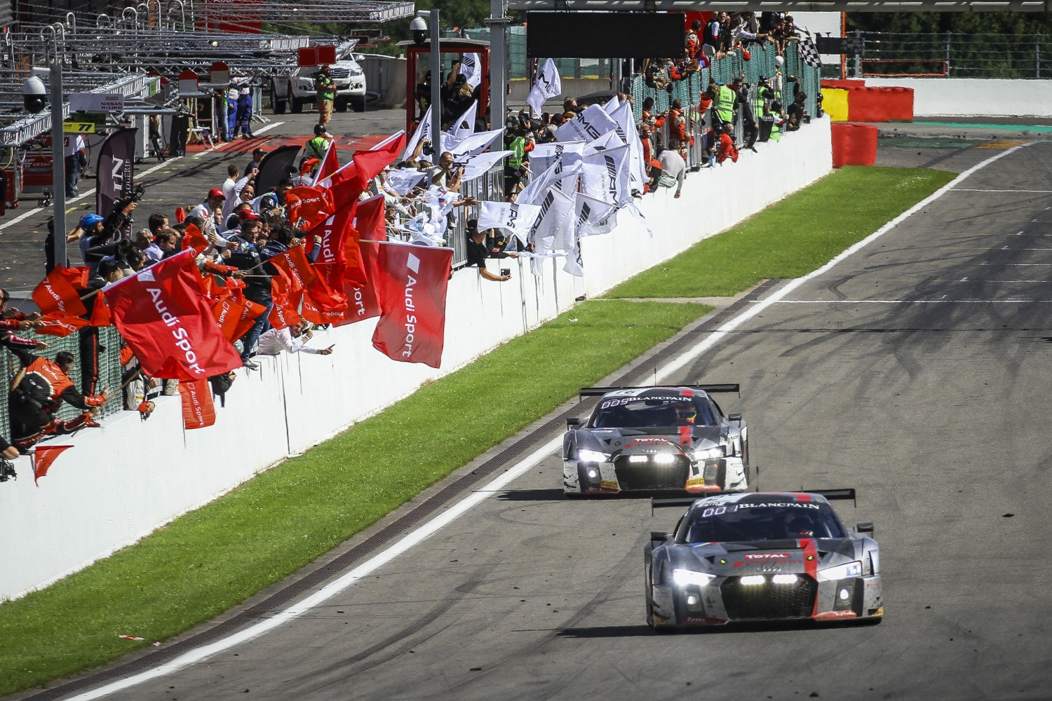Audi Sport with eleven cars in Total 24 Hours of Spa 2018
