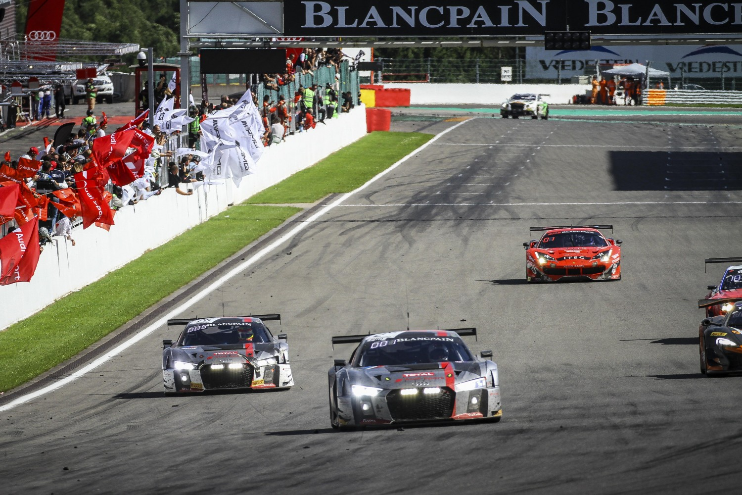 Audi aims for fifth victory in Total 24 Hours of Spa