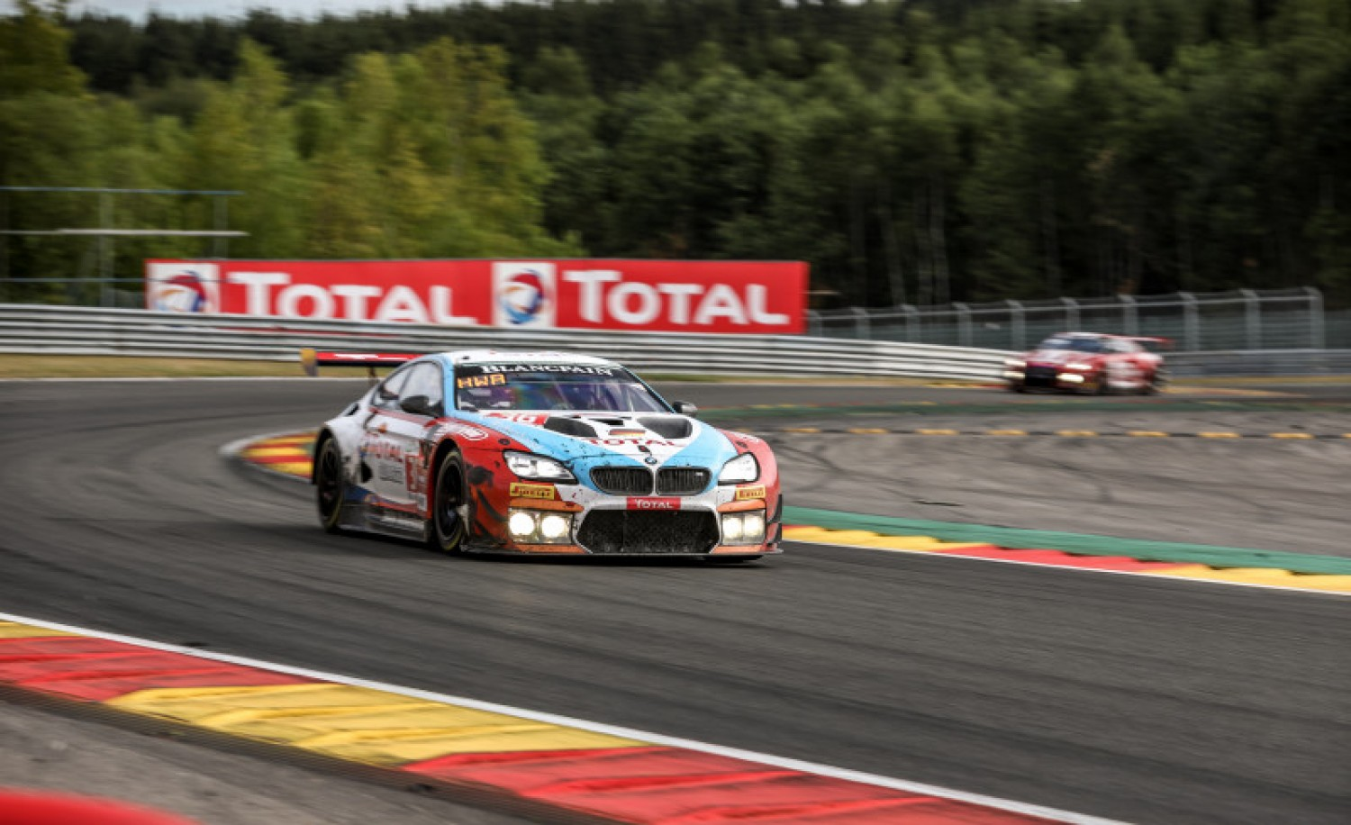 BMW leads with 90 minutes to go