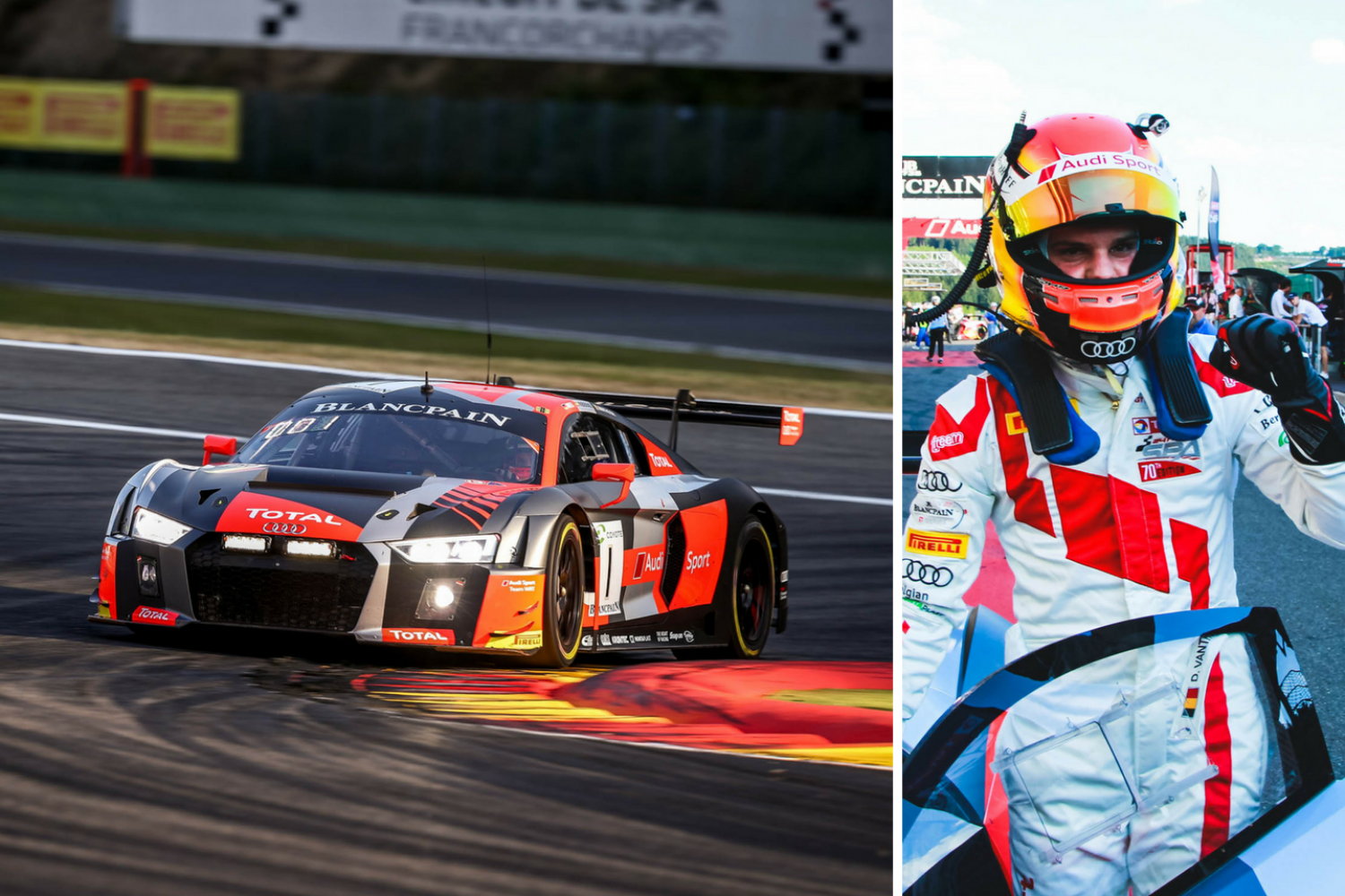 Dries Vanthoor takes Audi to pole position for the second round of the Intercontinental GT Challenge