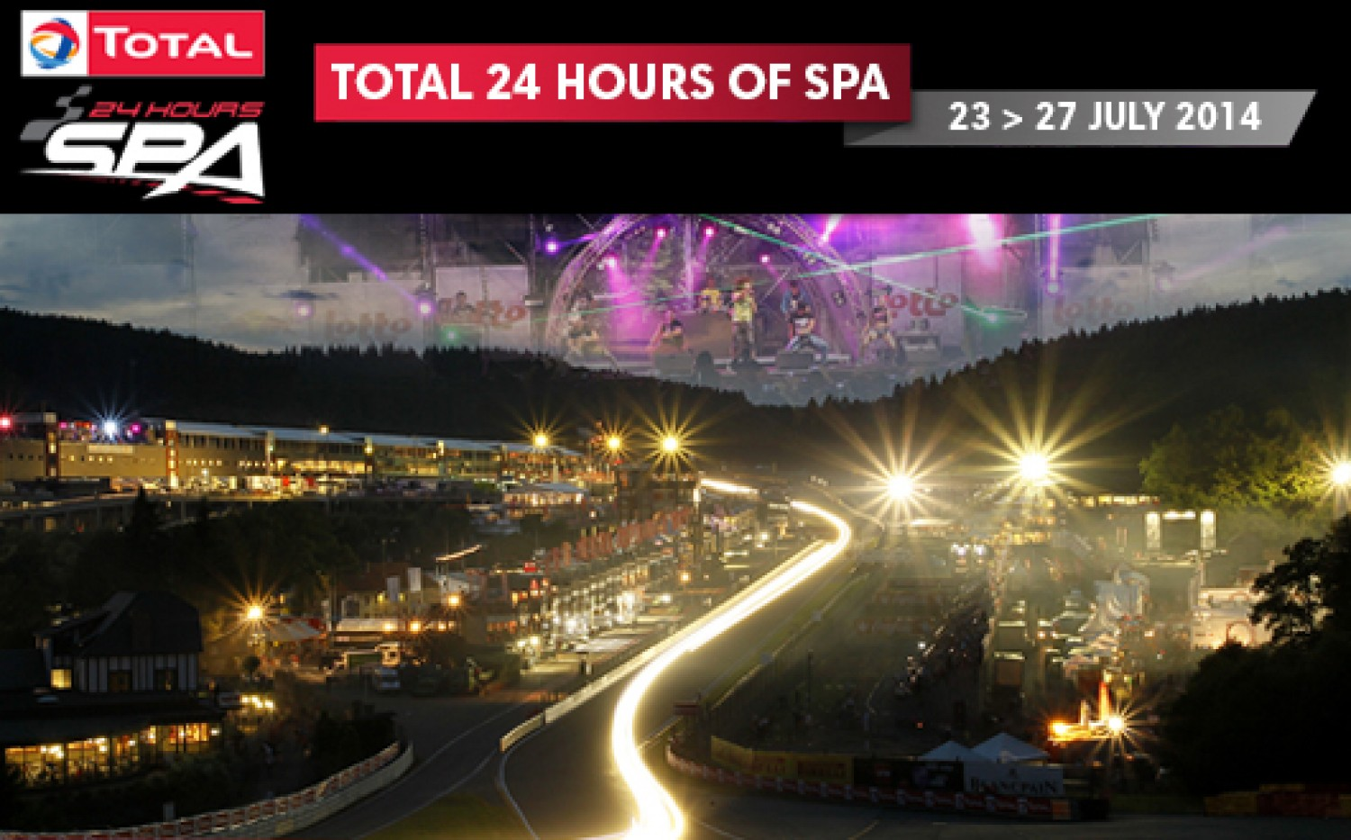 Tickets for the Total 24 Hours of Spa now on sale