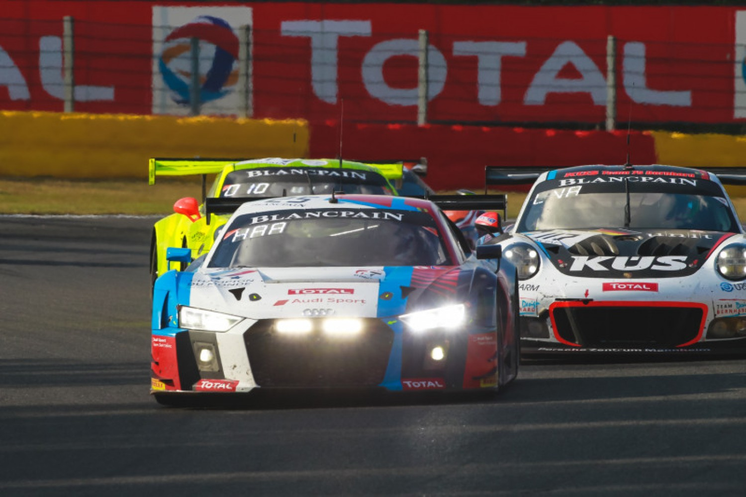 Mercedes-AMG and Audi fighting for Intercontinental GT Challenge honours