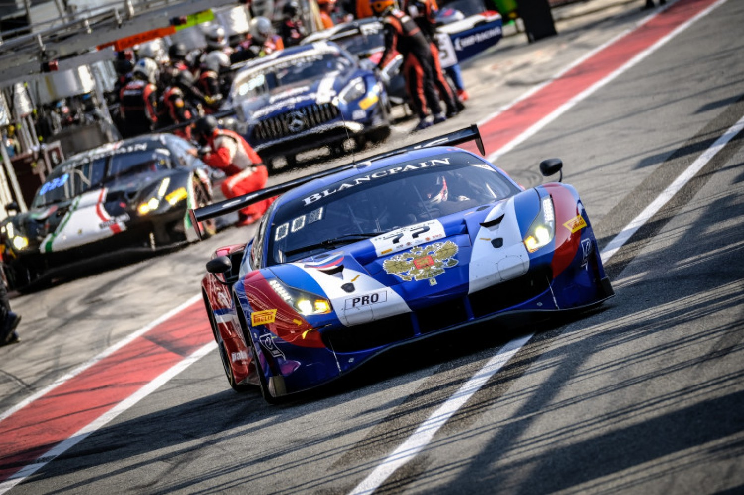 Team effort from SMP Racing puts Ferrari on pole at Monza