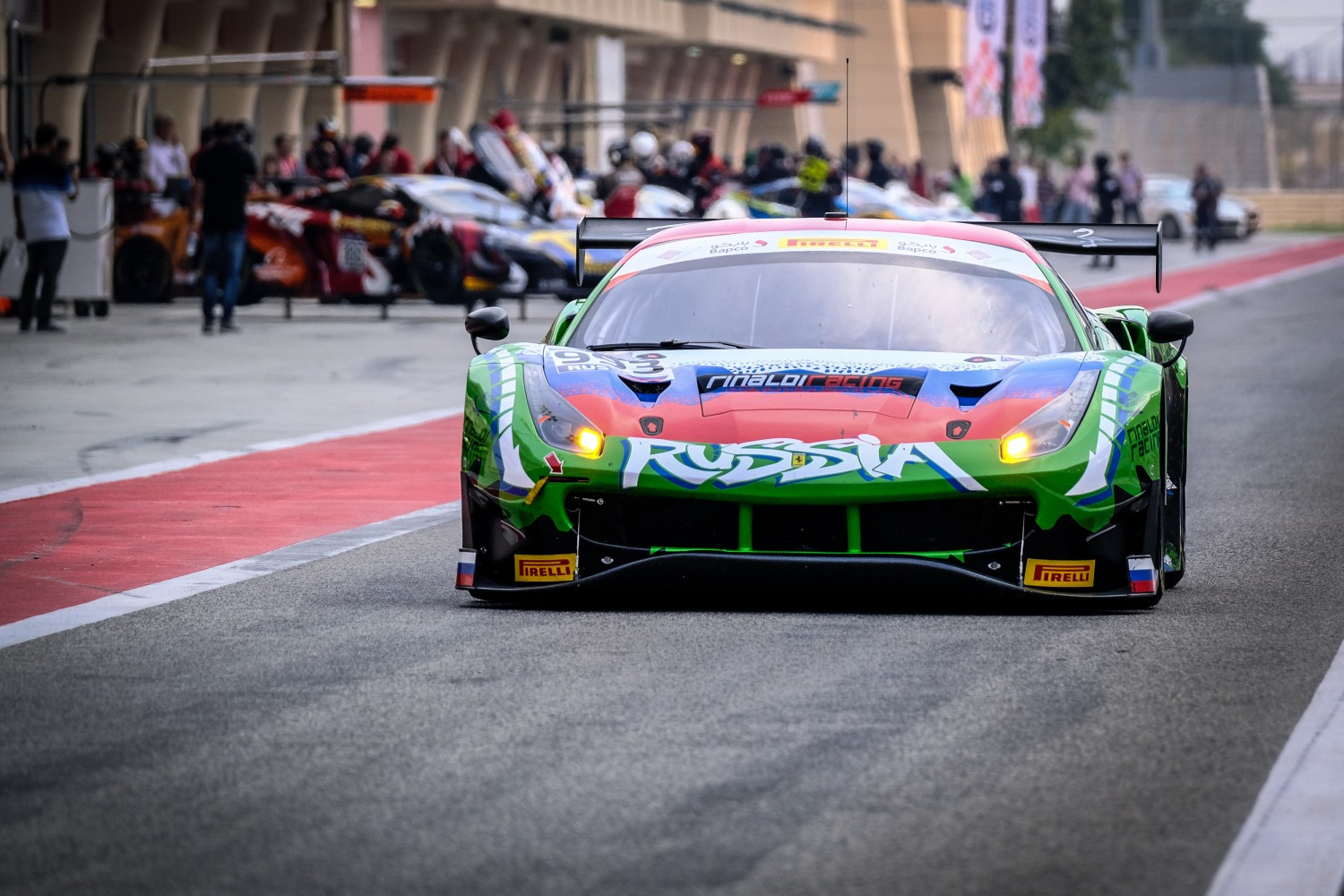 Significant Blancpain GT Series representation on FIA Motorsport Games GT Cup entry list