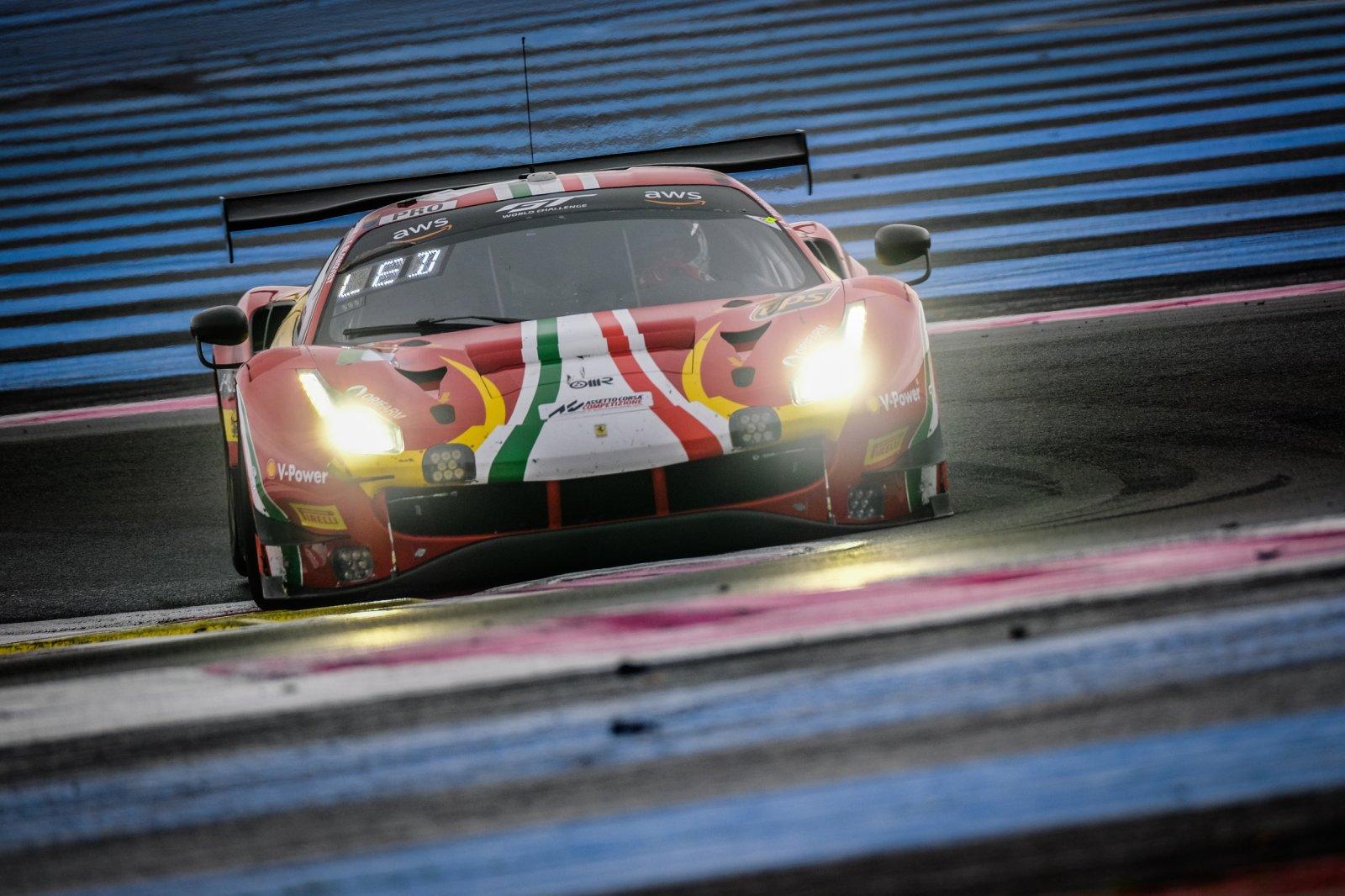 AF Corse secures title glory for Ferrari with sensational Circuit Paul Ricard 1000km triumph