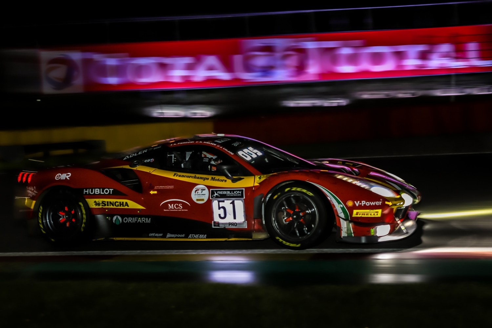 15-hour update: did the leading Ferrari make a tactical mistake?