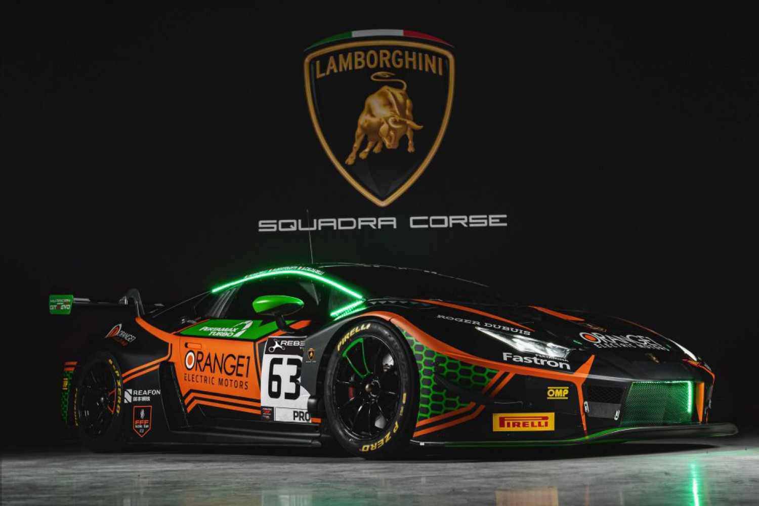 Orange1 FFF Racing Team ready for new challenge Fanatec GT World Challenge Europe Powered by AWS Endurance Cup