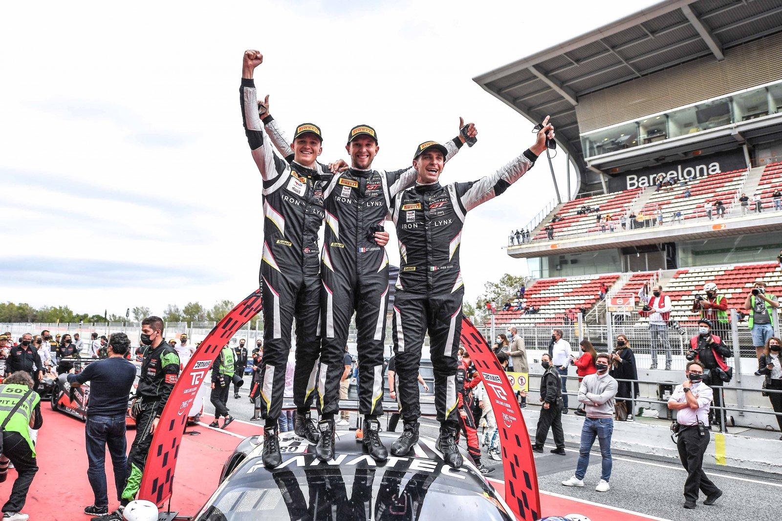 Iron Lynx Ferrari crew secures Endurance Cup drivers' crown, Team WRT Audi captures teams' title, as AKKA ASP Mercedes-AMG dominates season finale at Circuit de Barcelona-Catalunya