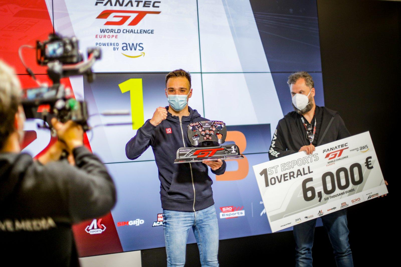 Rougier beats Juncadella to inaugural Fanatec Esports GT Pro Series victory at Monza
