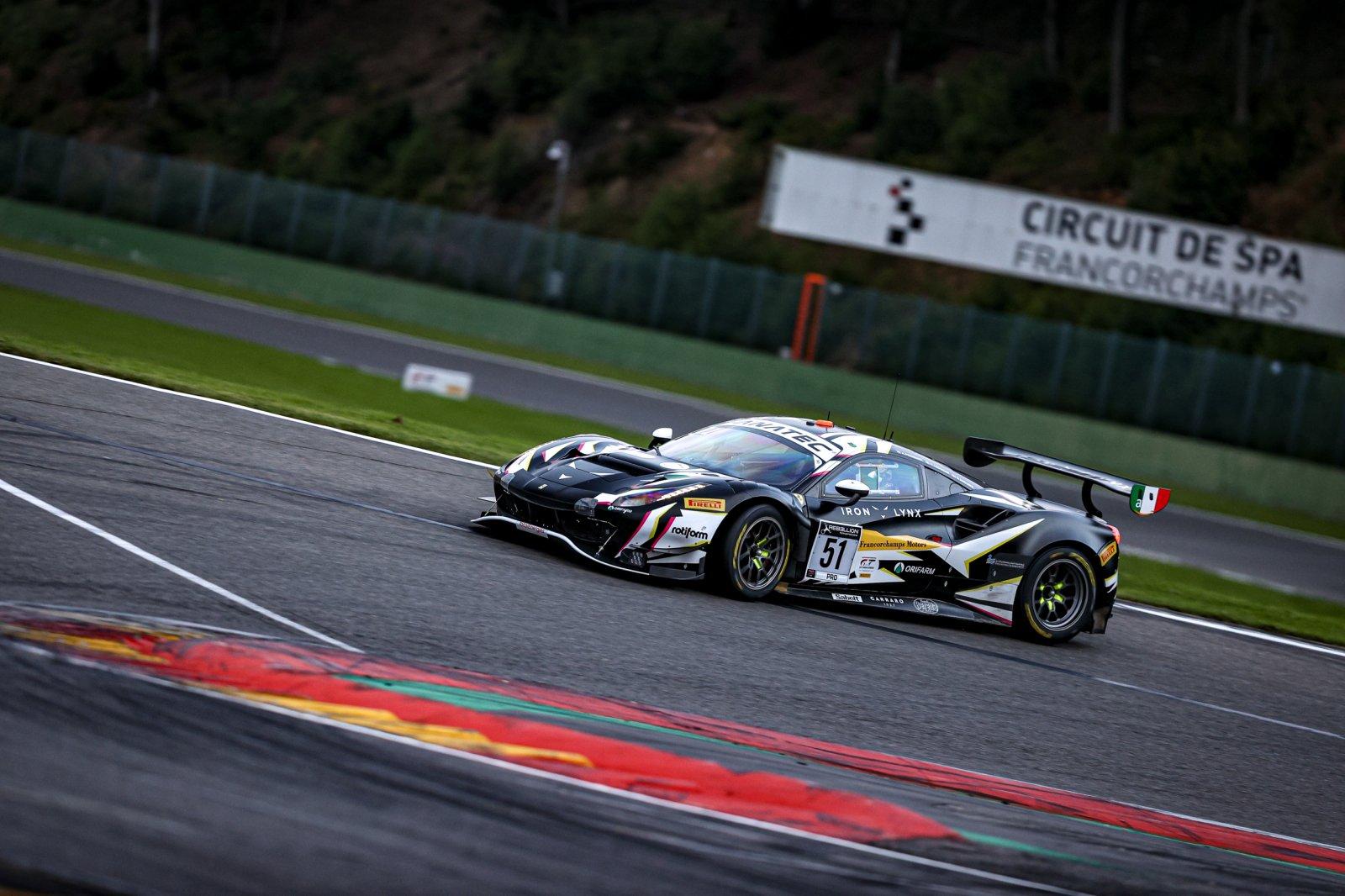 Comfortable lead for Iron Lynx Ferrari at the 14-hour mark