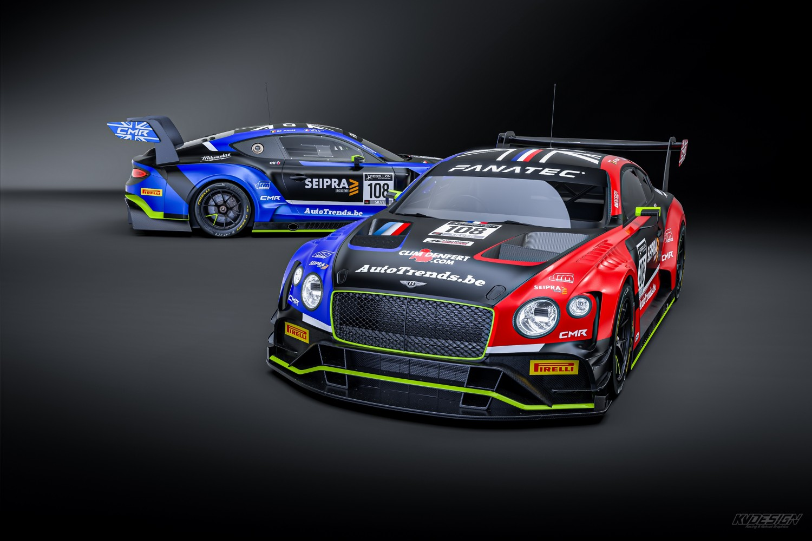 CMR confirms two-car Bentley assaultfor 2021 Sprint Cup