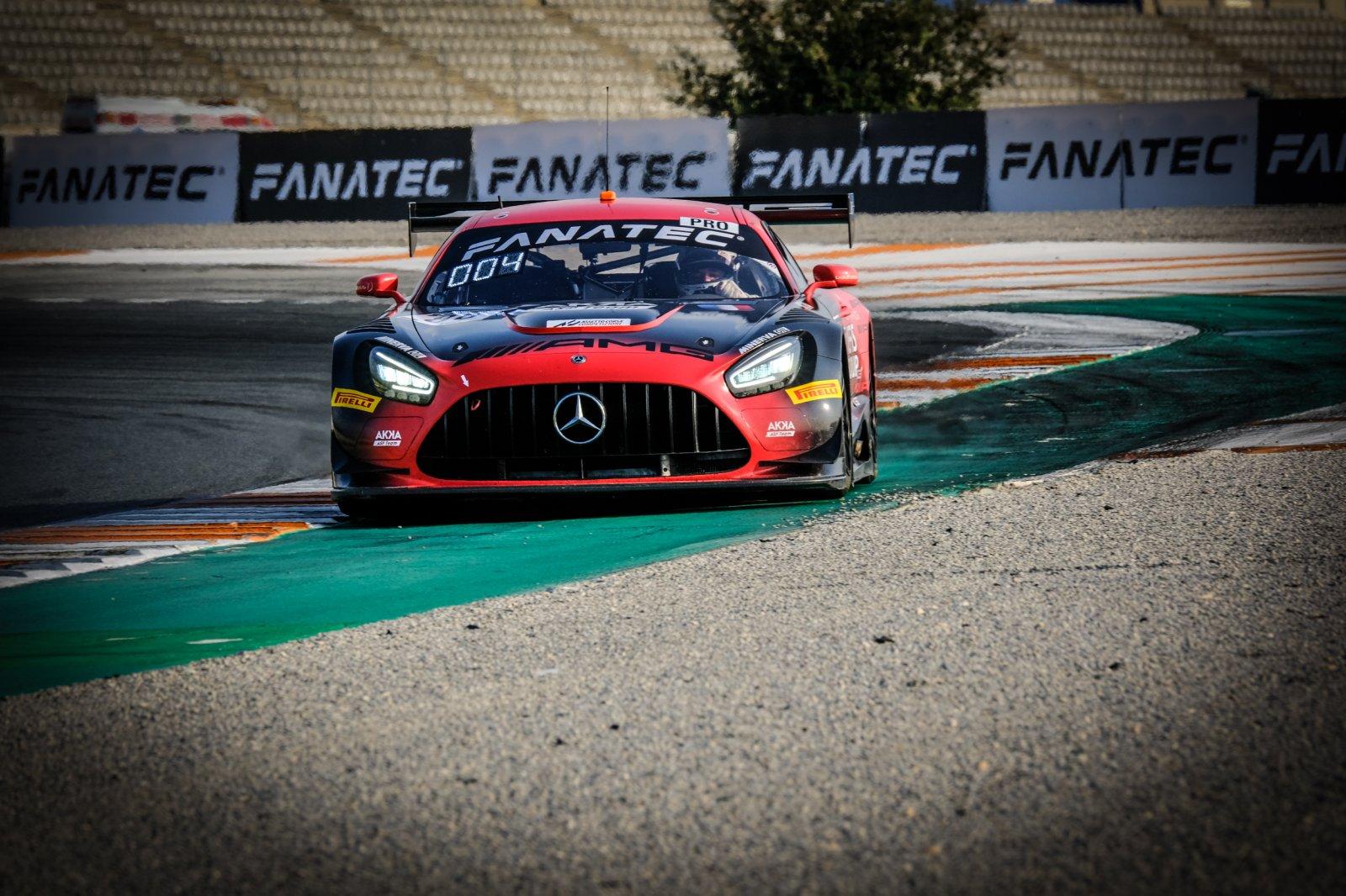 Marciello kicks off Valencia weekend on top for AKKA ASP Mercedes-AMG