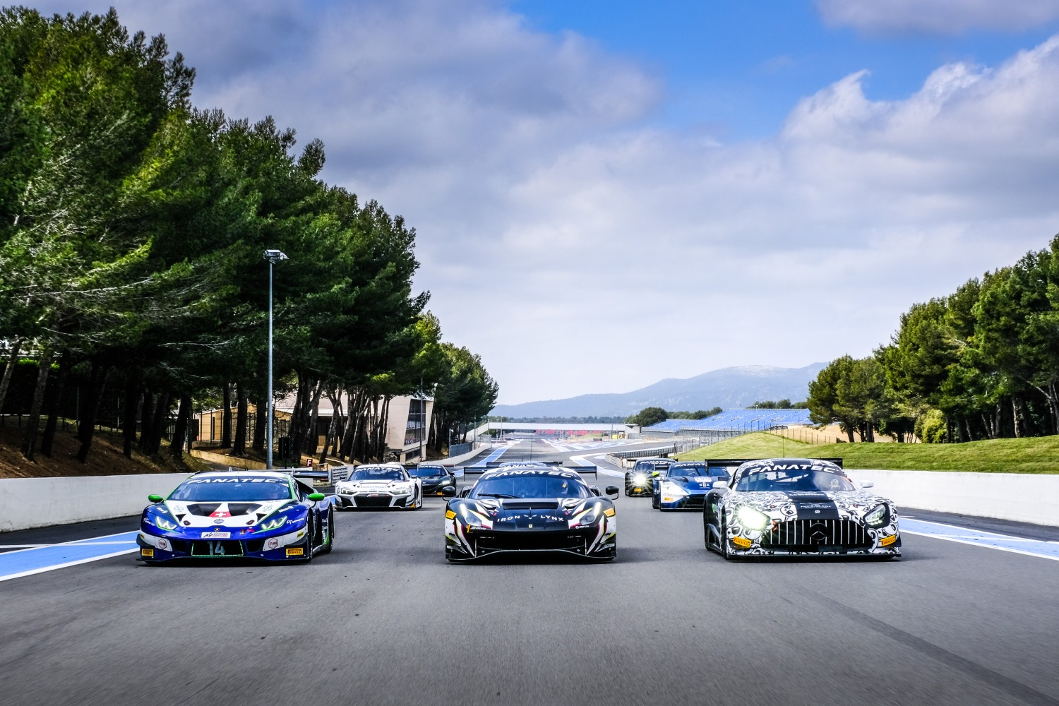 Fanatec GT World Challenge Europe Powered by AWS completes successful pre-season test at Circuit Paul Ricard