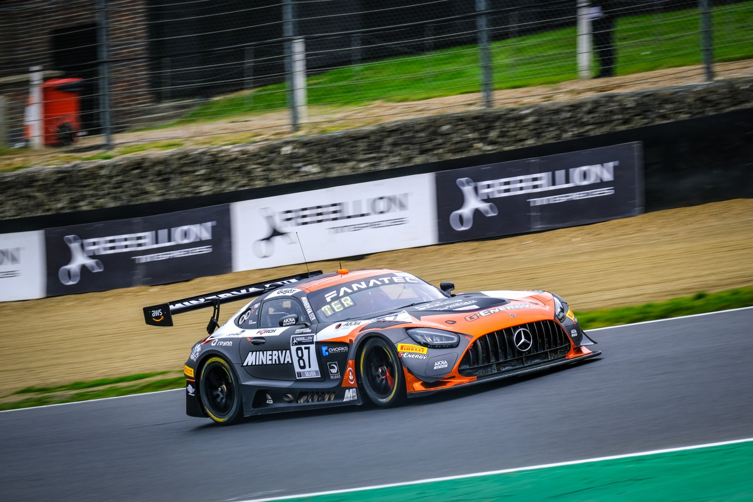 Pla puts AKKA ASP Mercedes-AMG on top in practice at Brands Hatch