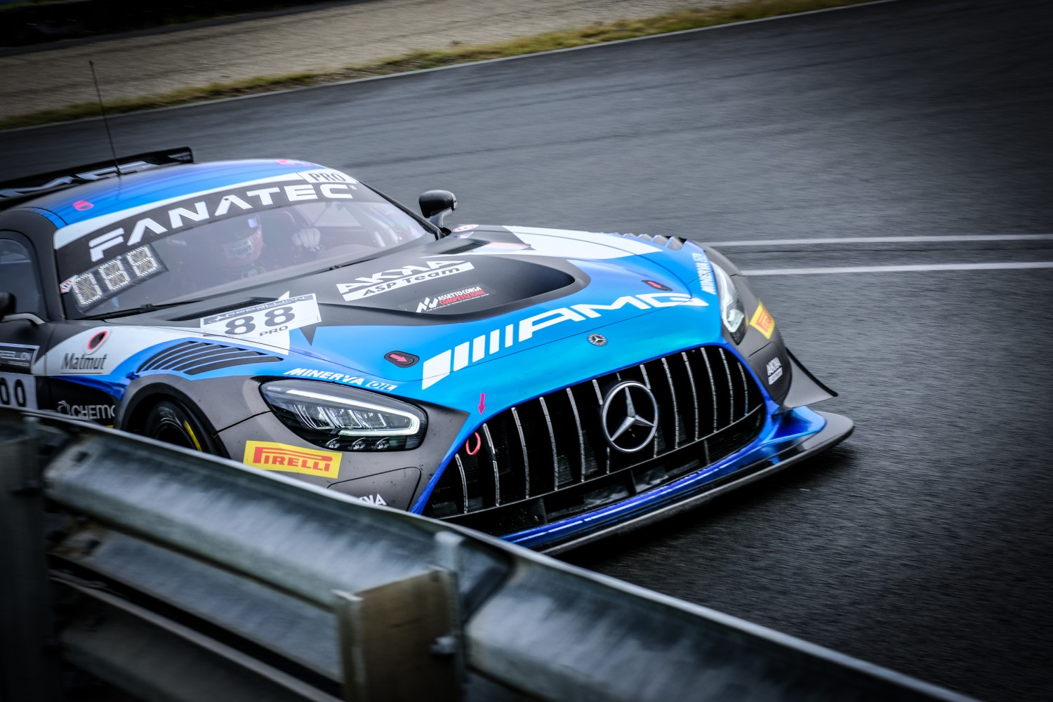 Maricello puts AKKA ASP Mercedes-AMG on pole for second Zandvoort contest